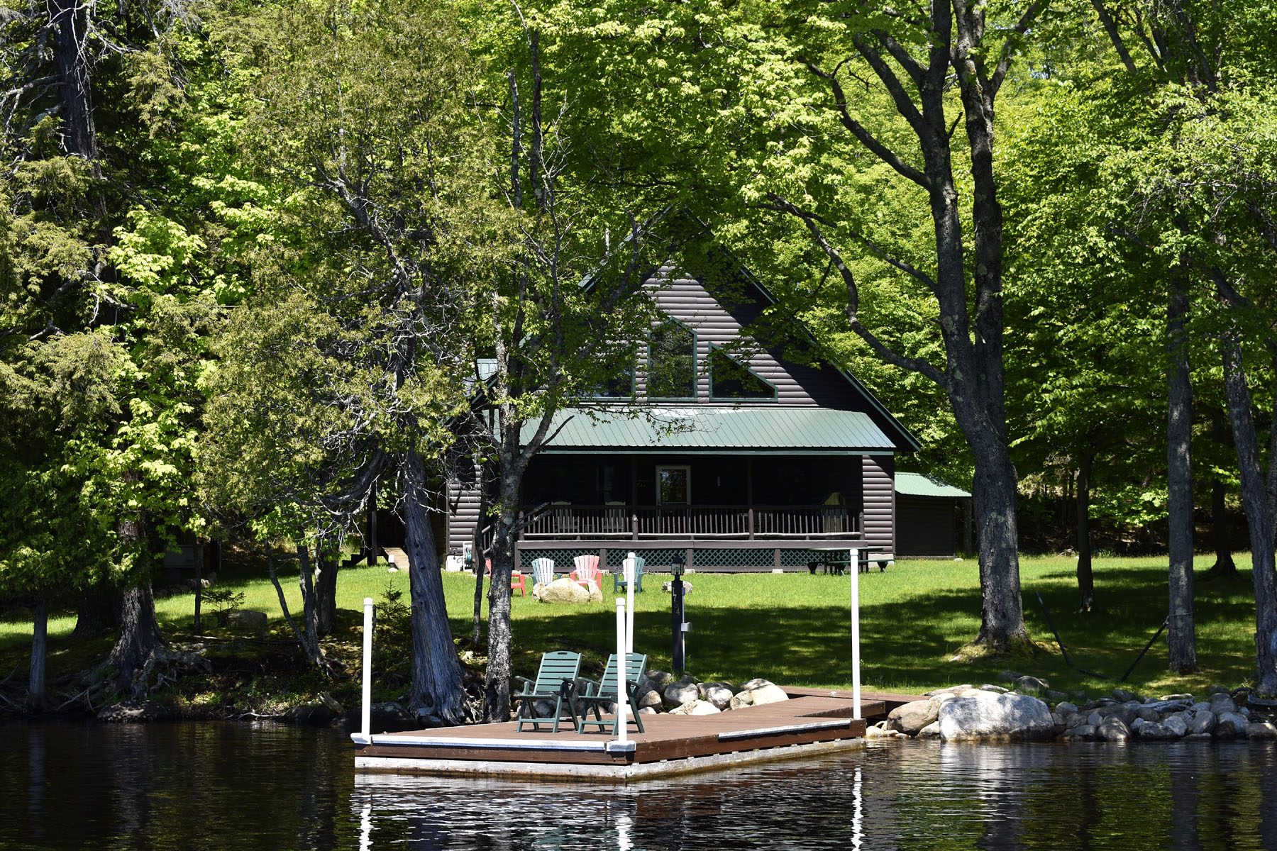 Single Family Homes for Sale at Raquette Lake Waterfront Home! 1764 Long Point Raquette Lake, New York 13436 United States