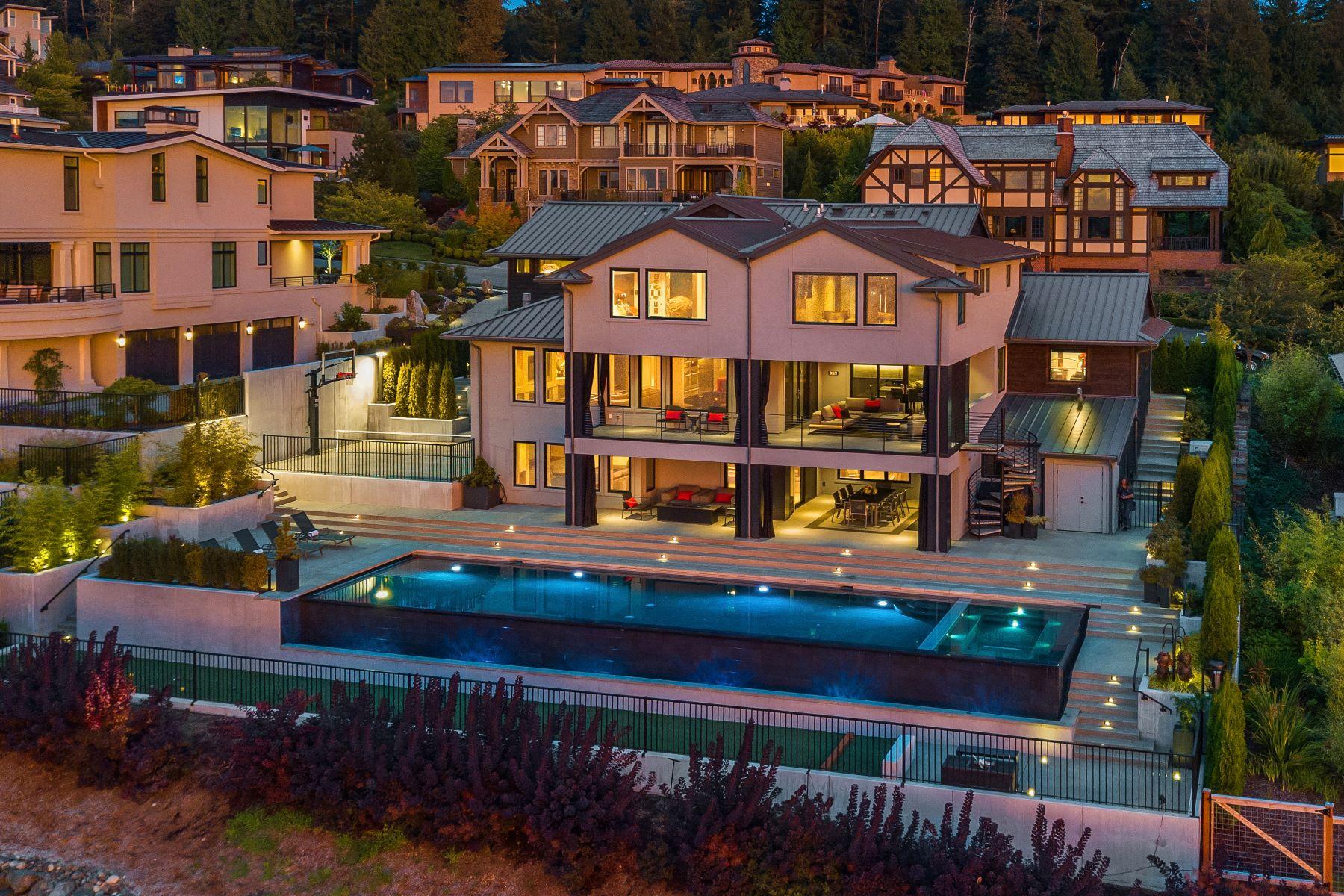 Single Family Homes por un Venta en Connoisseurs of Life 3174 NE Harrison St Issaquah, Washington 98029 Estados Unidos