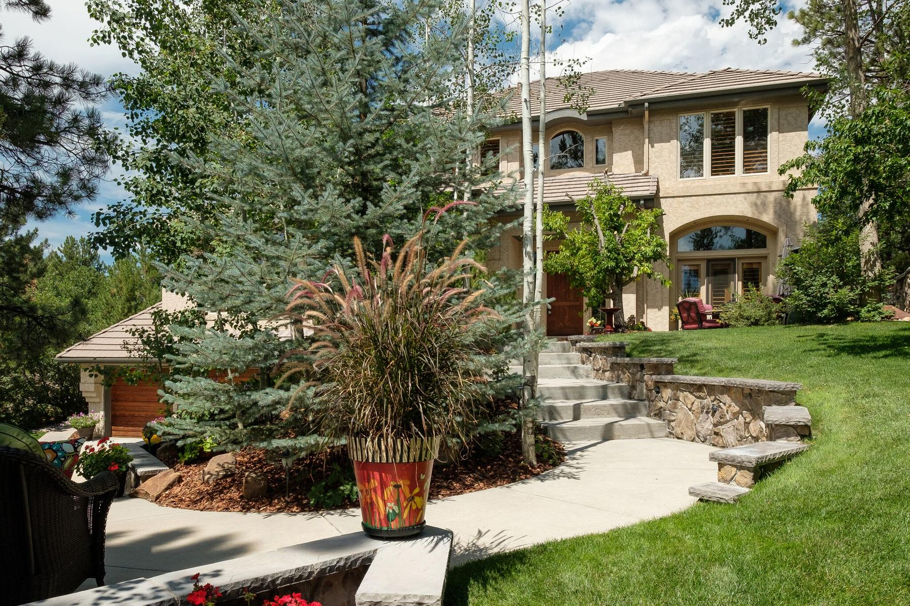 Single Family Home for Active at Colorado living at its finest at this impressive home. 245 Country Club Pkwy Castle Rock, Colorado 80108 United States