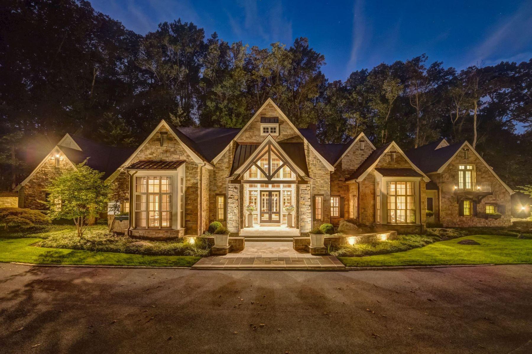 Single Family Homes por un Venta en Caves Valley Golf Club 3100 Blendon Road Owings Mills, Maryland 21117 Estados Unidos