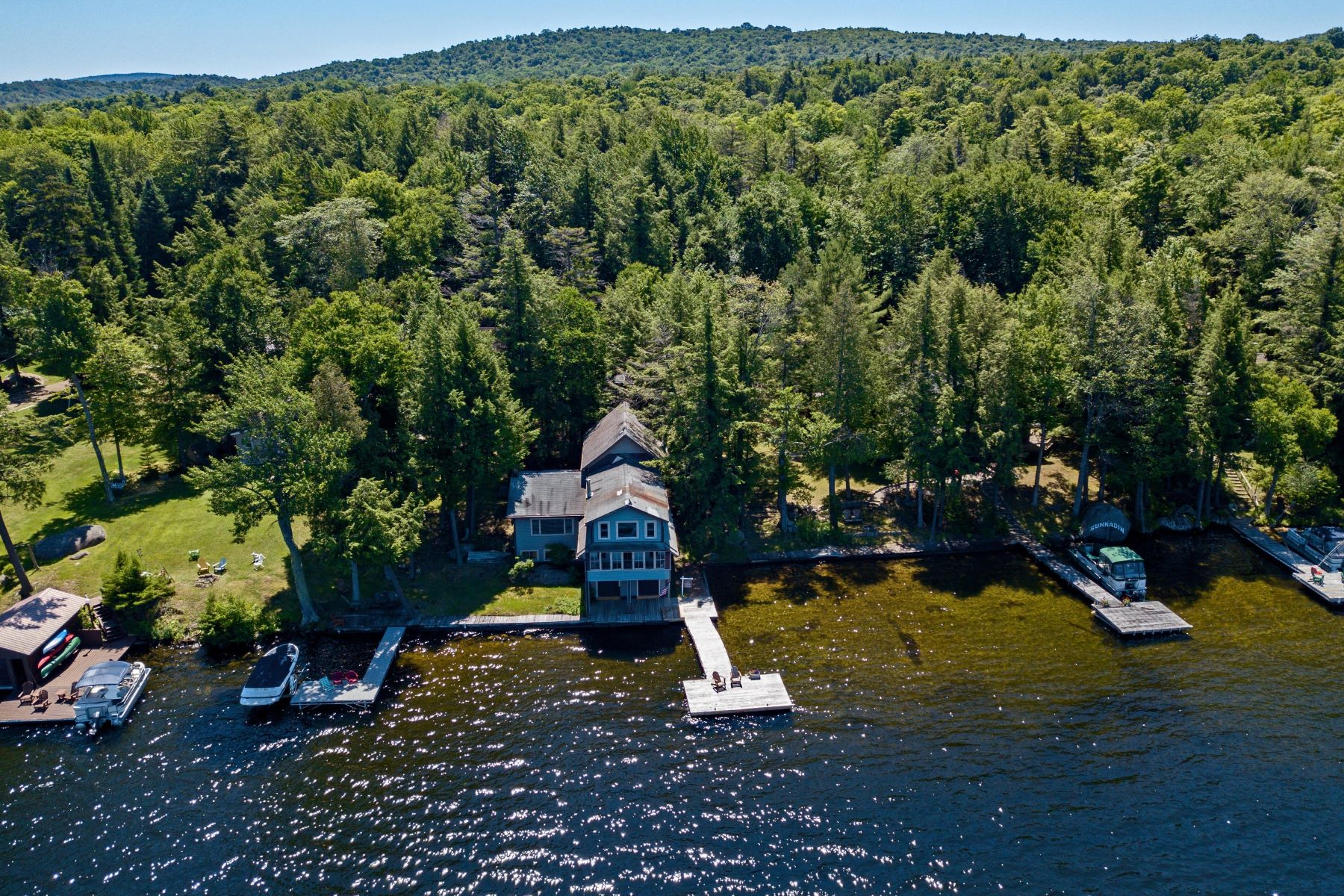 Single Family Homes for Active at Waterfront Living at the Water's Edge 139 Sunnadin Trail Fourth Lake Old Forge, New York 13420 United States
