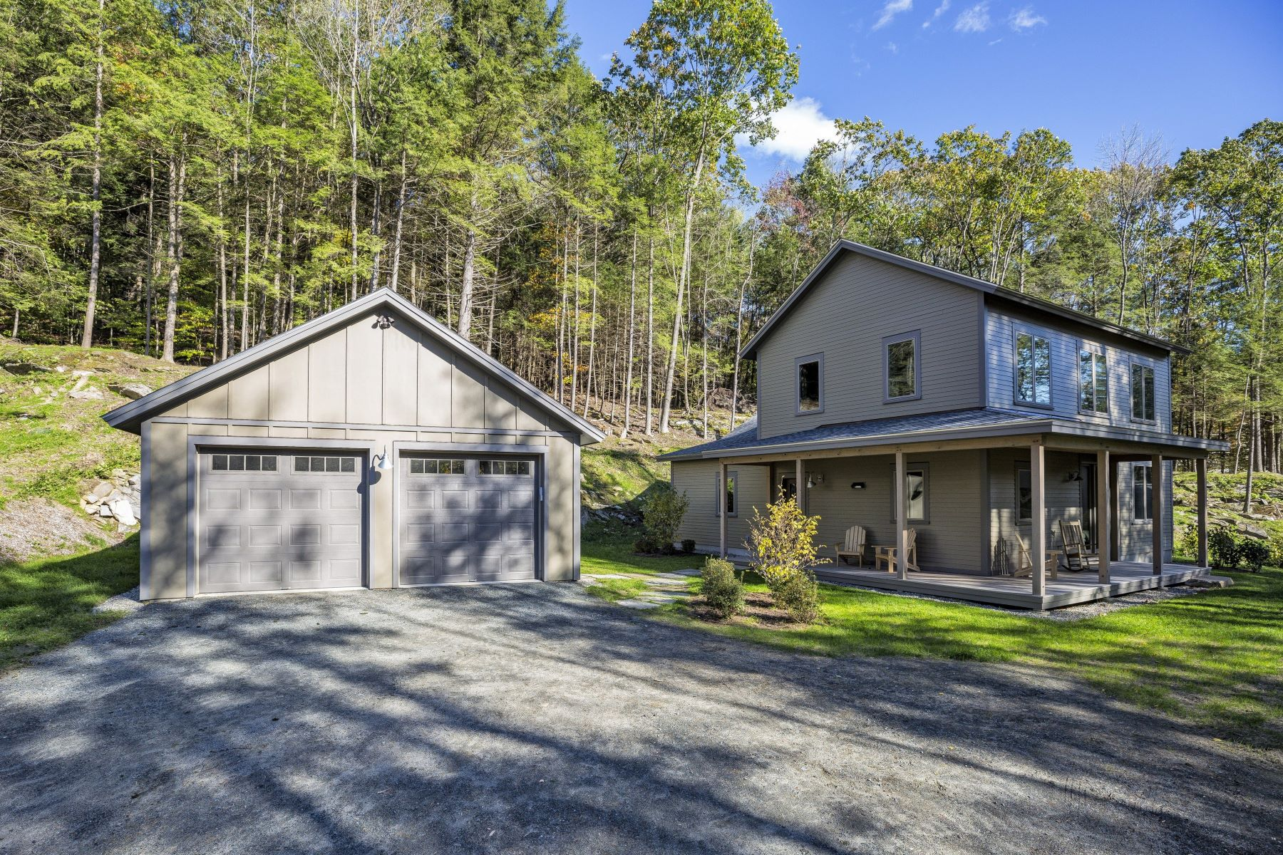 Single Family Homes for Sale at Three Bedroom Farmhouse in Quechee Community 1013 Willard Rd 5206 Hartford, Vermont 05059 United States