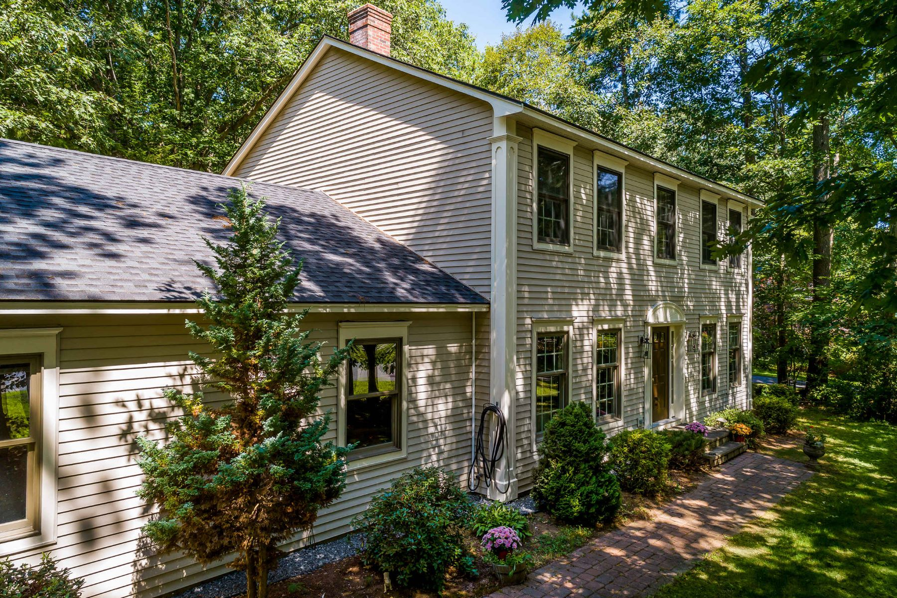 Single Family Homes for Sale at Classic Colonial on Corner Lot in The Forest in Wells 117 Pointed Fir Boulevard W, Wells, Maine 04090 United States