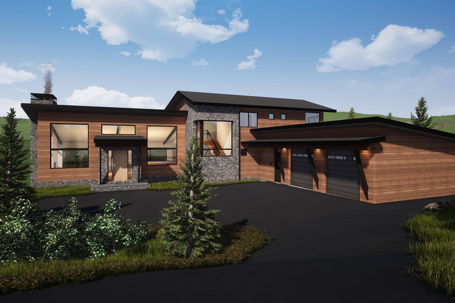 Single Family Homes 용 매매 에 Teton Village, 와이오밍 83025 미국