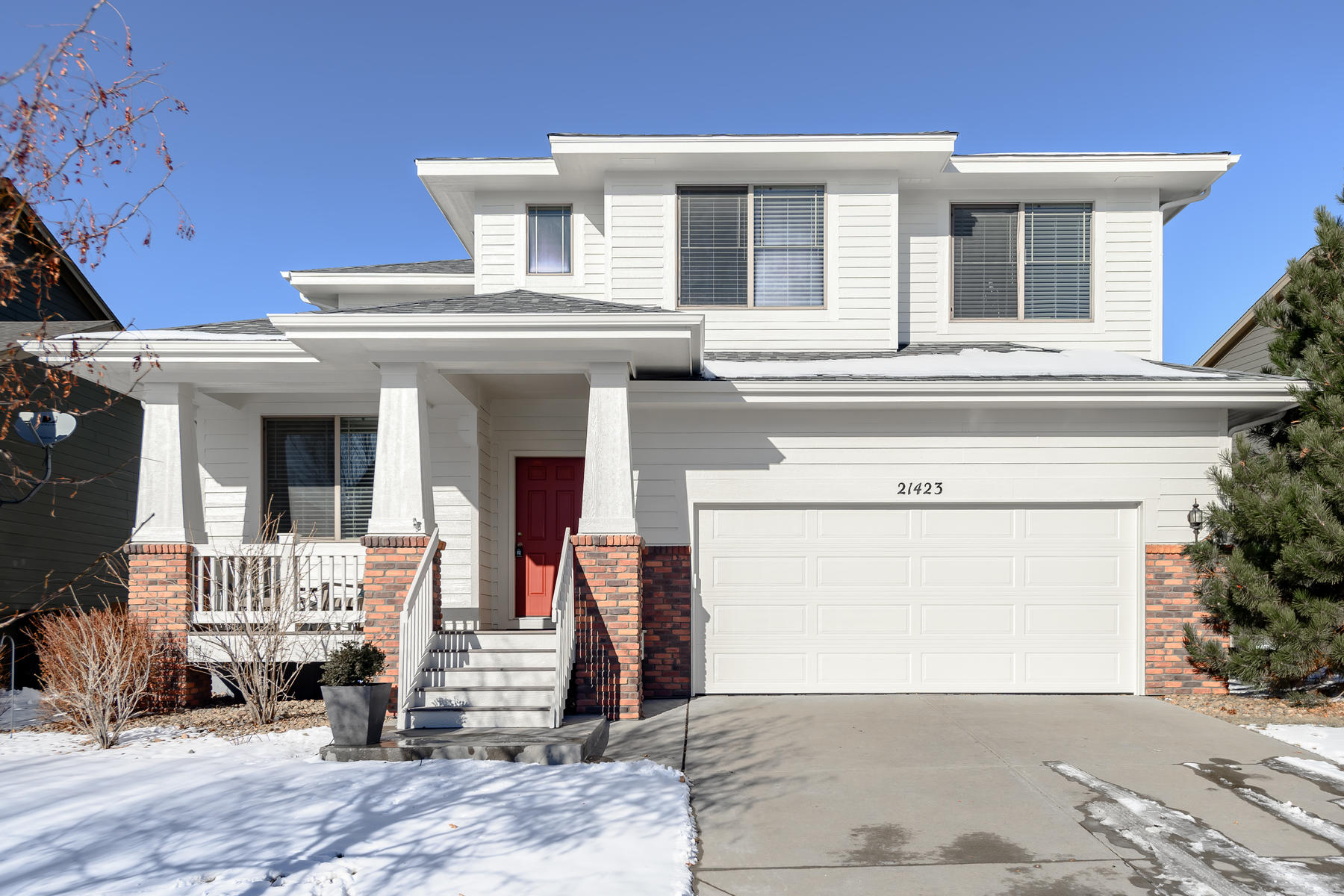 Single Family Homes for Sale at Bright, Open, & Beautiful 4 Bedroom Home on Quiet Street 21423 E Stroll Avenue Parker, Colorado 80138 United States