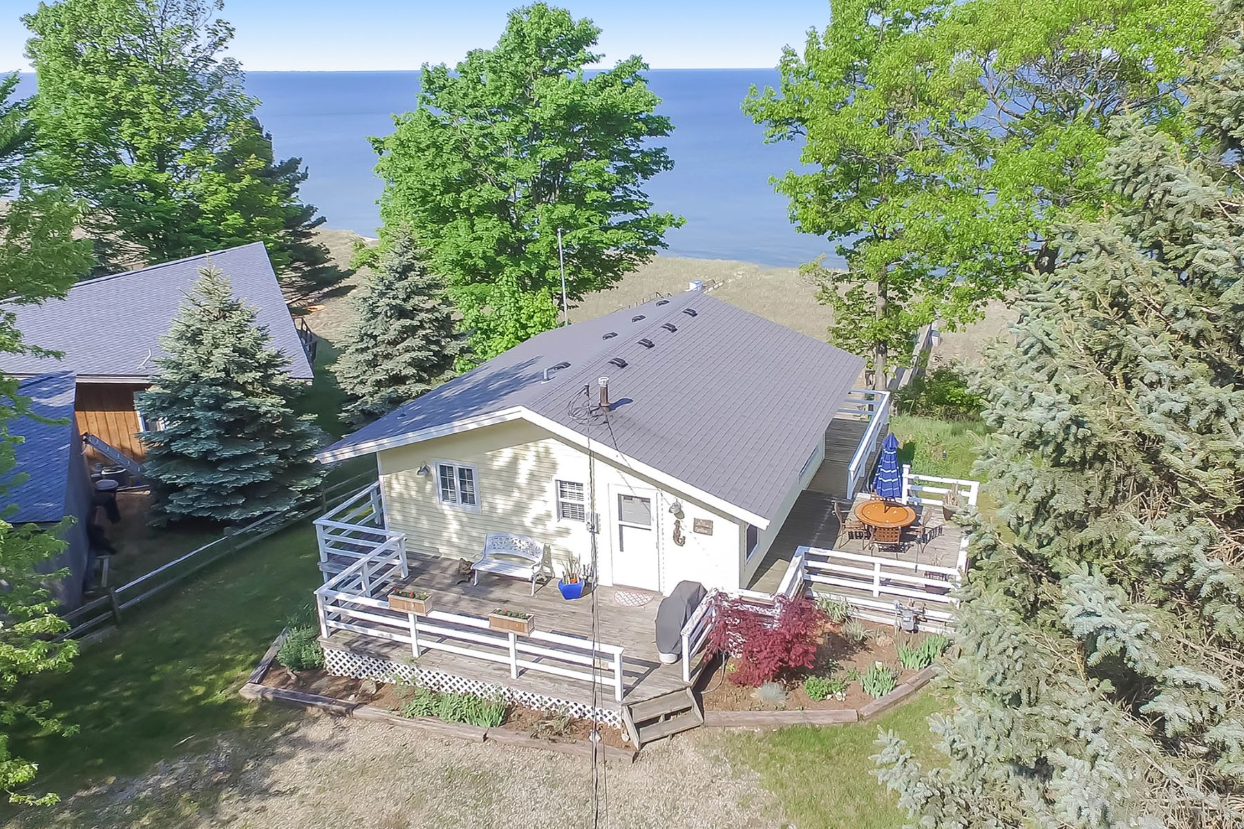 Single Family Homes for Active at Incomparable Lake Michigan Cottage 7709 Margaret Avenue West Olive, Michigan 49460 United States