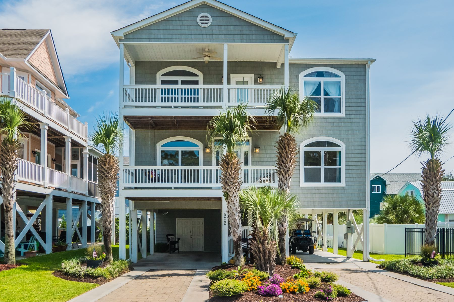 Single Family Home for Sale at Modern Specious Coastal Living 502 21st Ave N North Myrtle Beach, South Carolina, 29582 United States