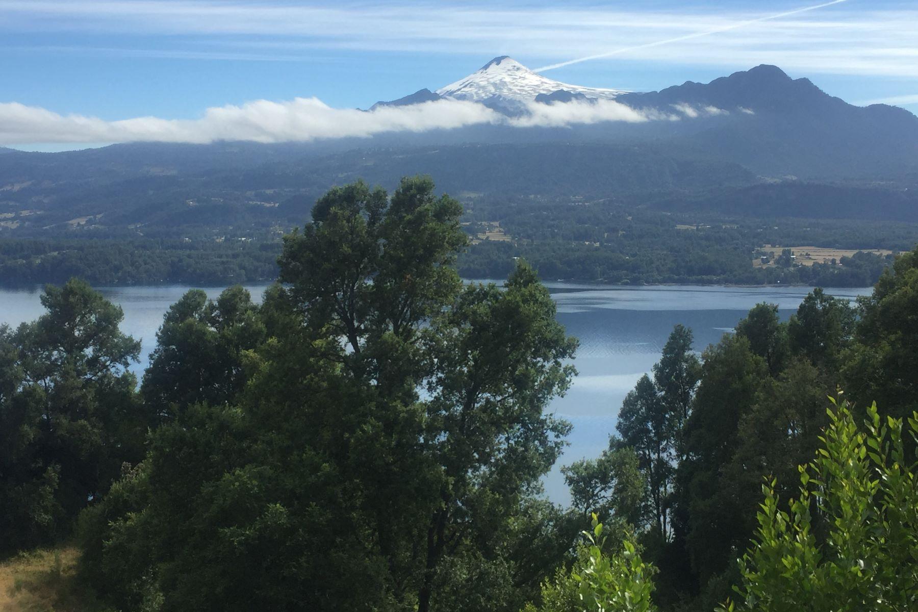 Land for Sale at Spectacular Land in Private Condo in Calafquen Lake Panguipulli, Valdivia, Los Rios Chile
