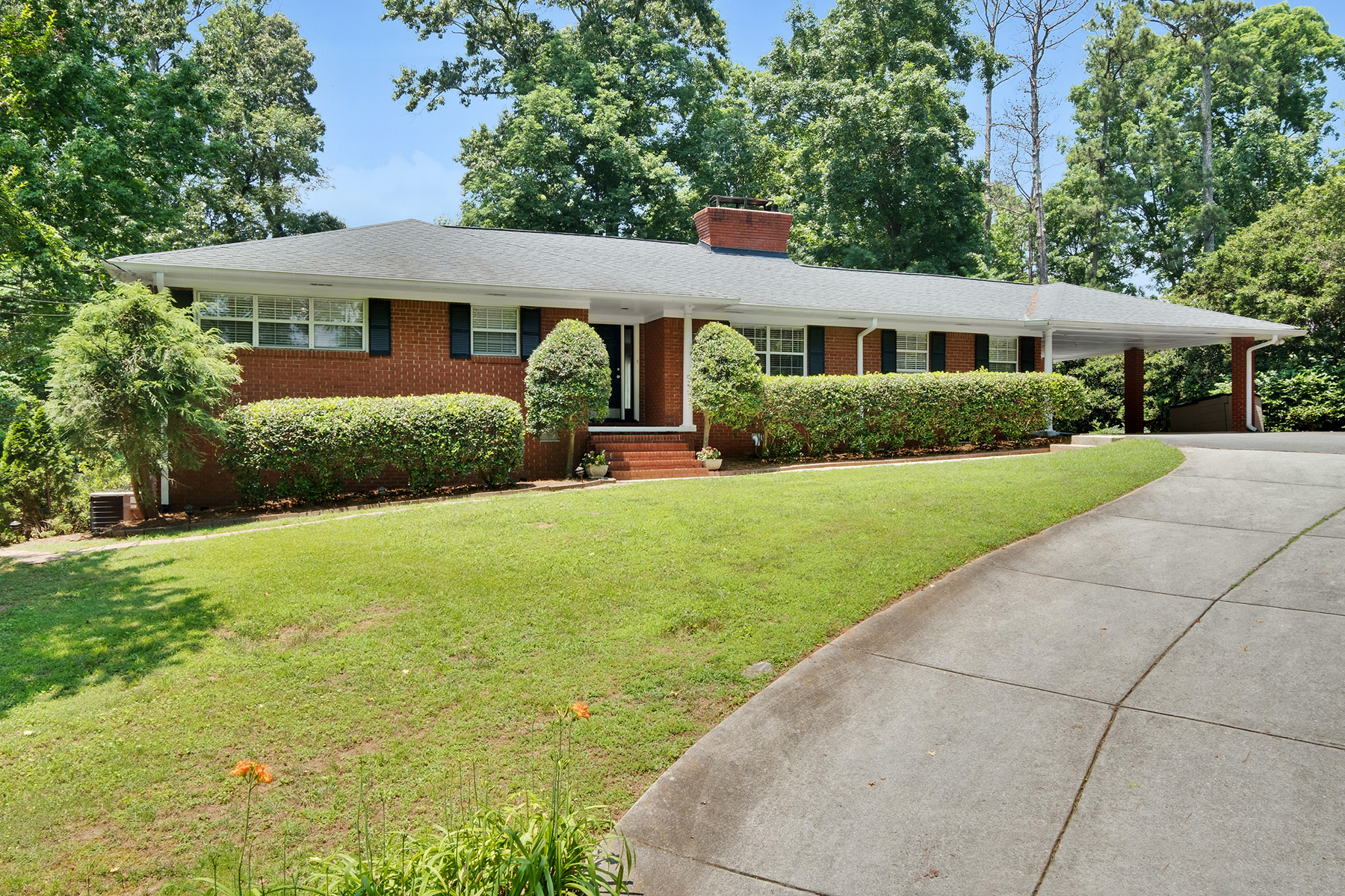 Single Family Home for Sale at Spacious Ranch Meets All Your Needs 6678 Brandon Mill Road Sandy Springs, Georgia 30328 United States