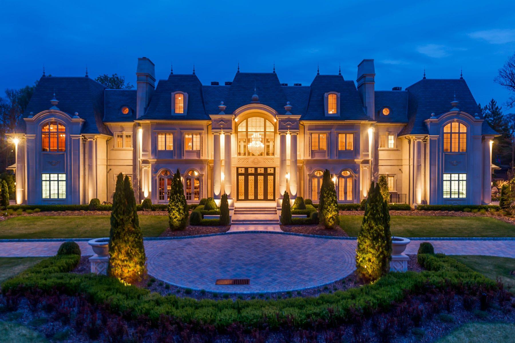 Single Family Home for Sale at Chateau de la Roche 48 Rio Vista Drive Alpine, New Jersey, 07620 United States