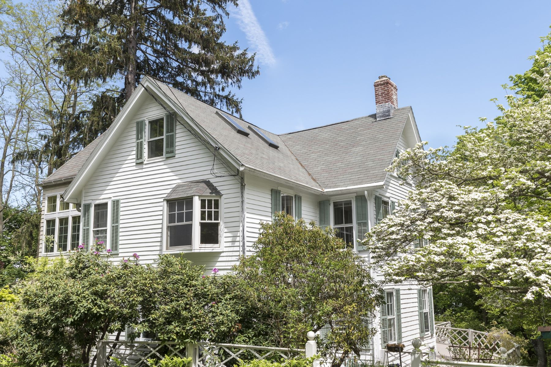 """Single Family Home for Sale at """"Four Gables"""" 26 Franklin Street Piermont, New York 10968 United States"""