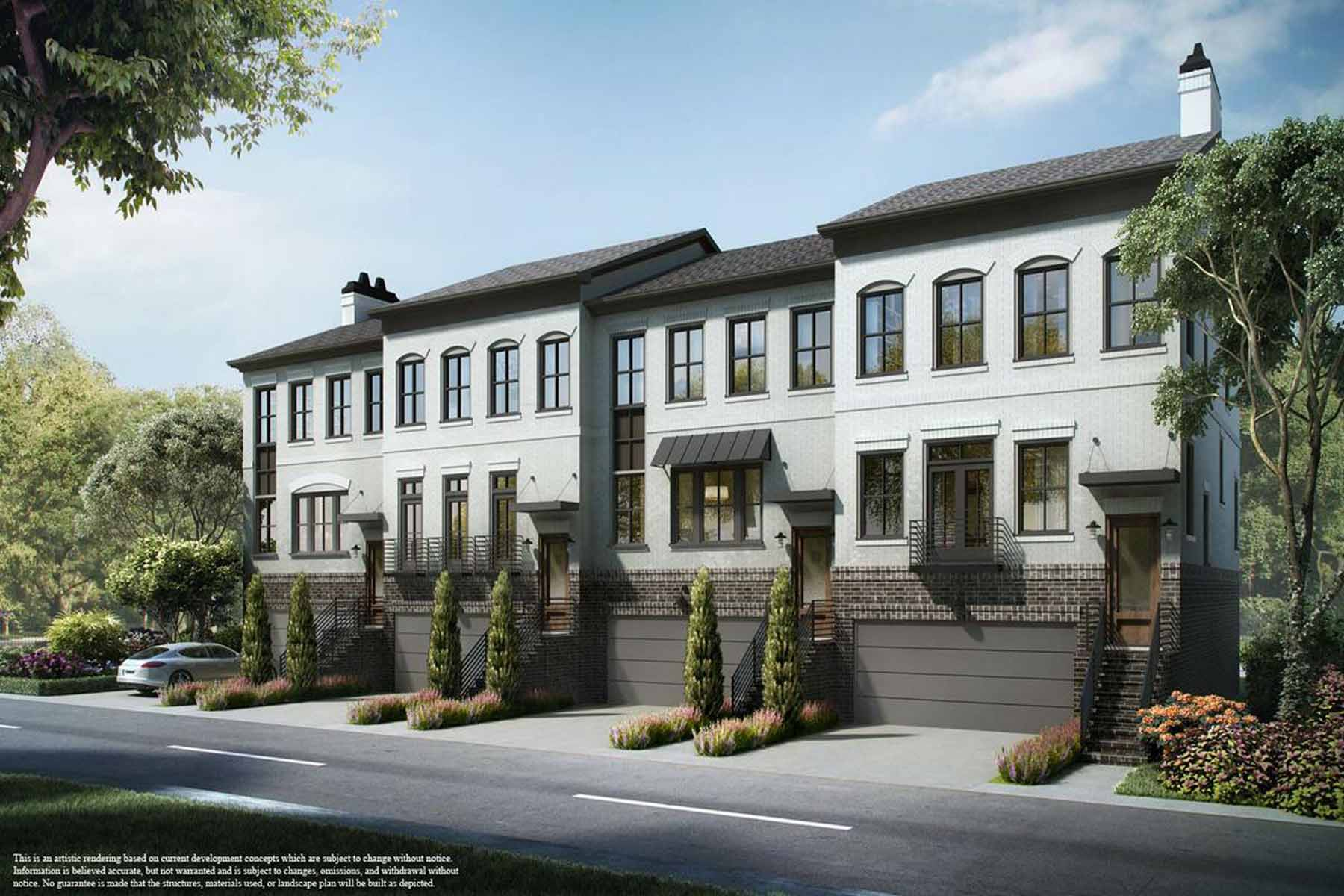 Townhouse for Sale at 17 Spacious Sophisticated Townhomes in the Heart of Dunwoody 1388 La France Street NE Unit 17 Atlanta, Georgia, 30307 United States