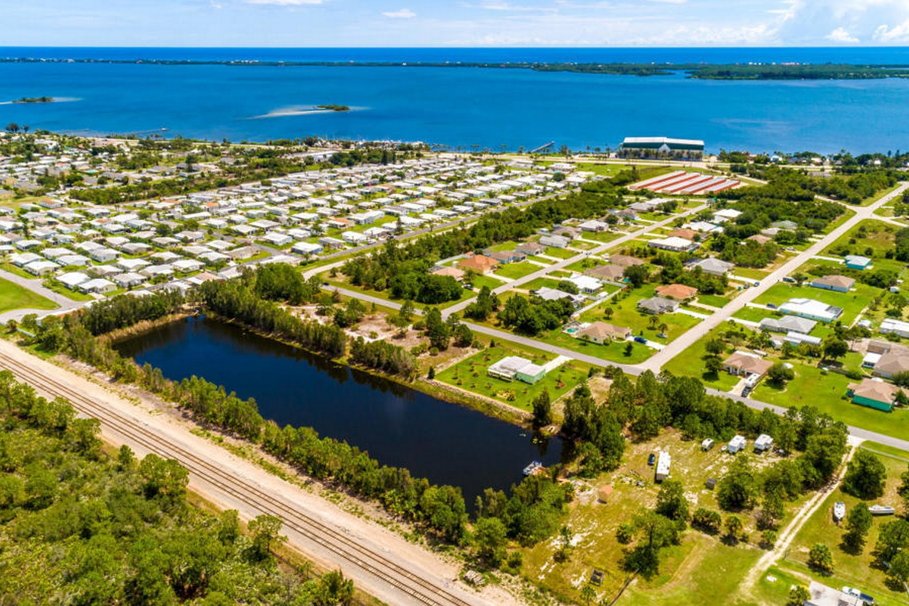 Additional photo for property listing at Ideally Located Lakefront Property TBD Unkown Micco, Florida 32976 United States