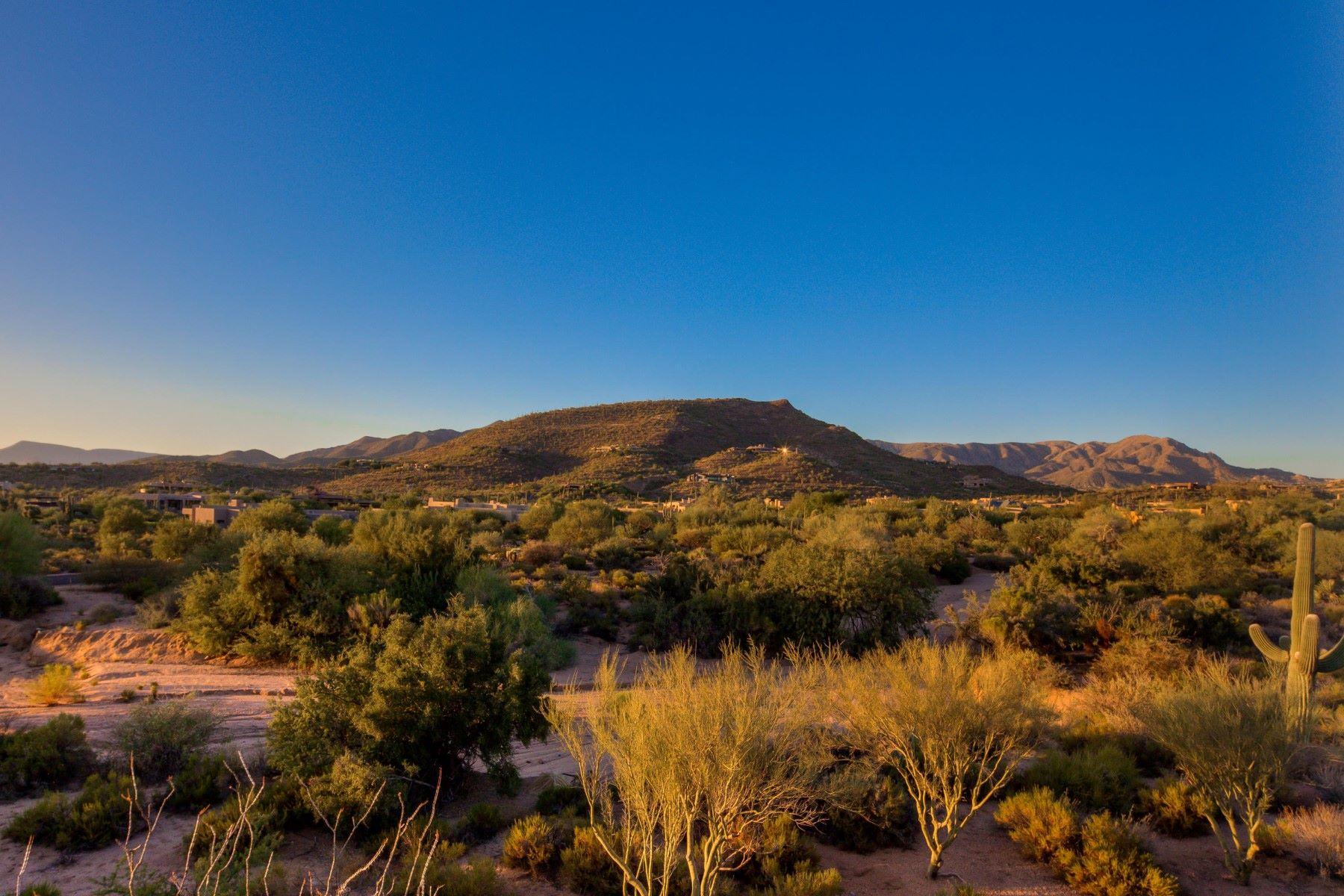 Terrain pour l Vente à Lovely building site in Gambel Quail 9396 E Sundance Trl lot 77, Scottsdale, Arizona, 85262 États-Unis