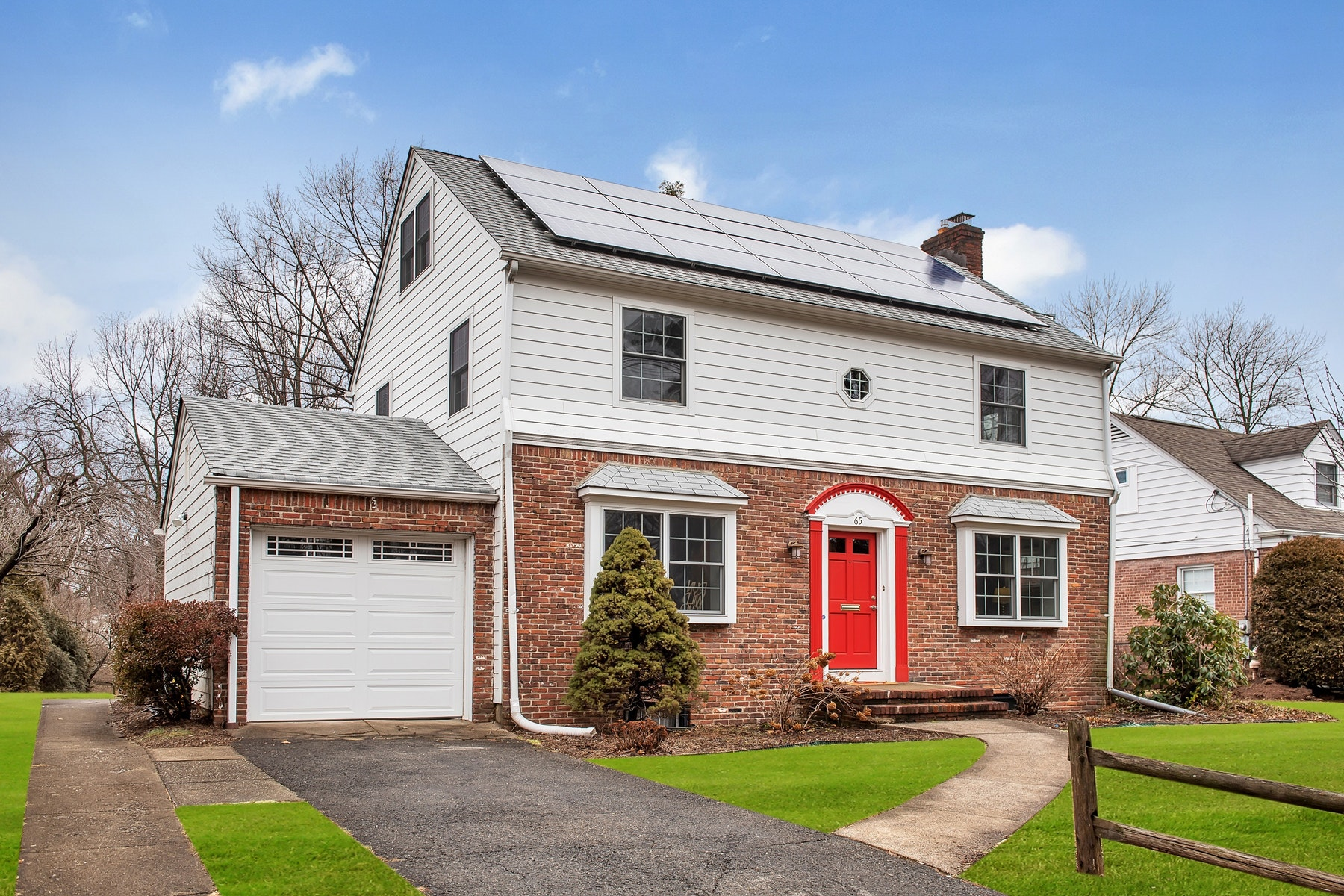 Single Family Home for Sale at Brookdale Park Colonial 65 Bellevue Avenue, Bloomfield, New Jersey 07003 United States