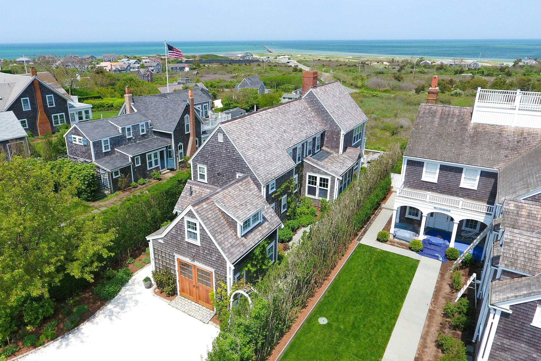 Single Family Home for Active at Picture Perfect Nantucket Location 9 Cabot Lane Nantucket, Massachusetts 02554 United States