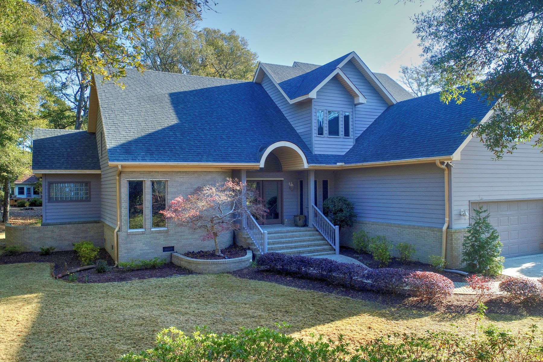 Single Family Homes for Sale at Custom Built Home With Amenities Galore 3310 Channelside Drive SW Supply, North Carolina 28462 United States