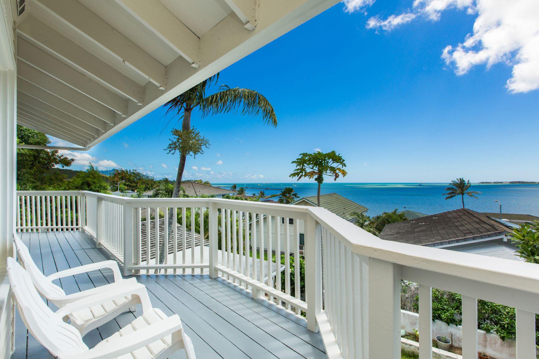 一戸建て のために 売買 アット Charm and Elegance with Ocean Views 46-058 Ipuka Street Kaneohe, ハワイ 96744 アメリカ合衆国