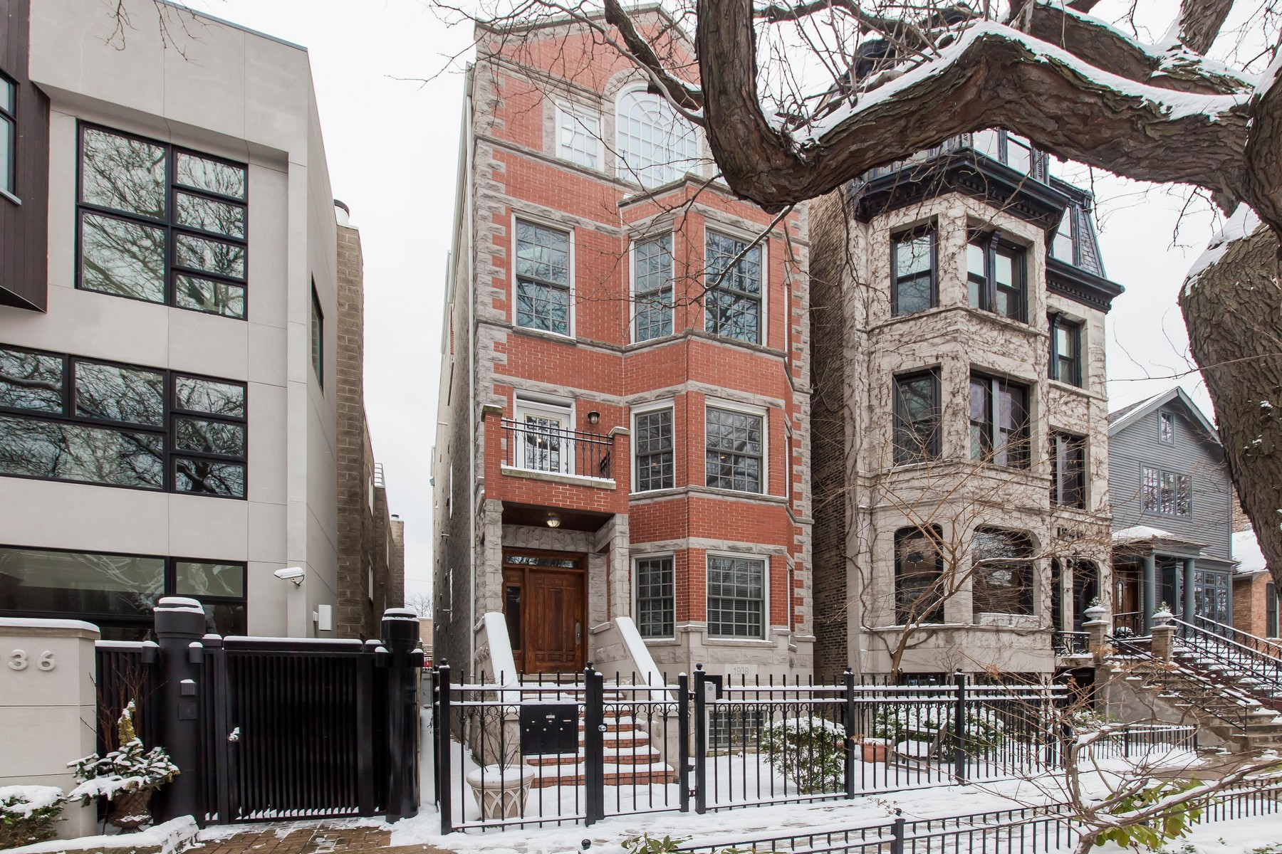 sales property at Architect Inspired East Lincoln Park Home