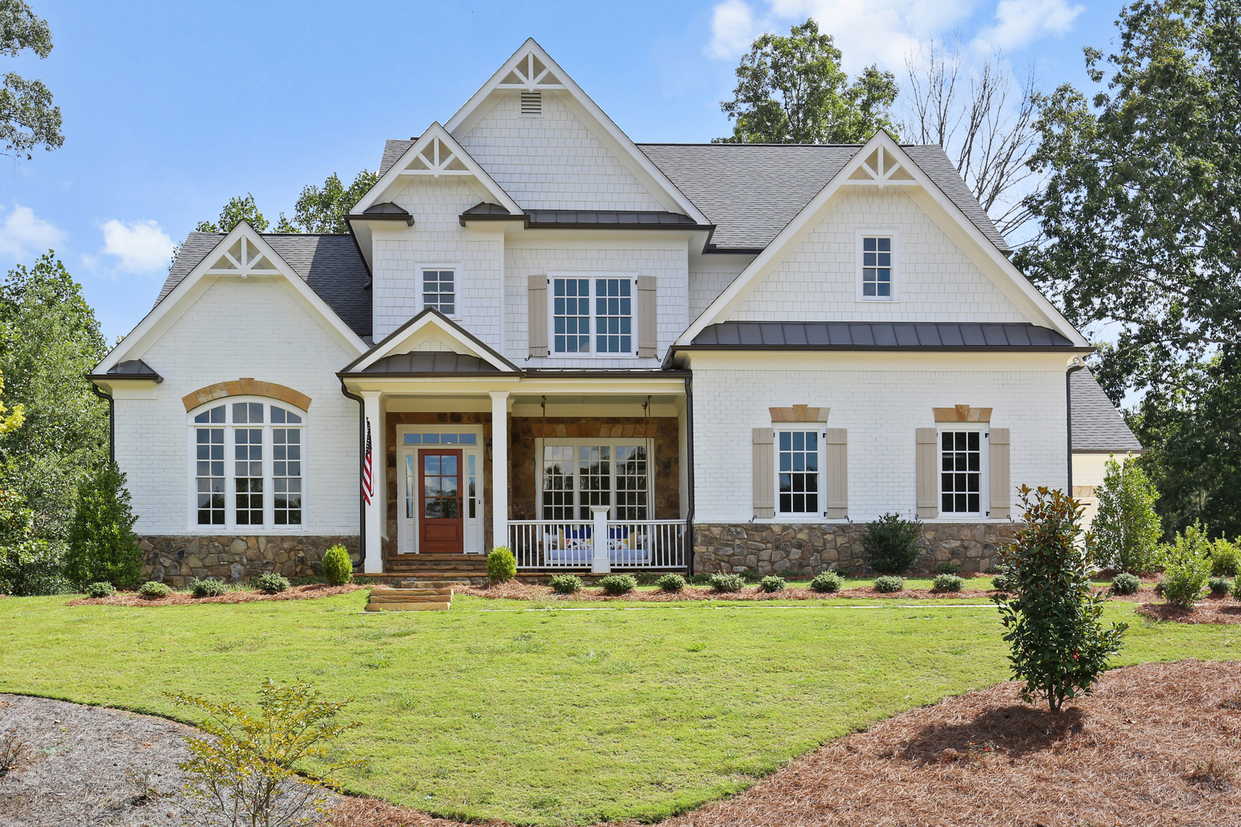 Single Family Home for Sale at New Construction On Cul-De-Sac Lot In Sought After Sim Tennis 1268 Oakshaw Run Roswell, Georgia 30075 United States