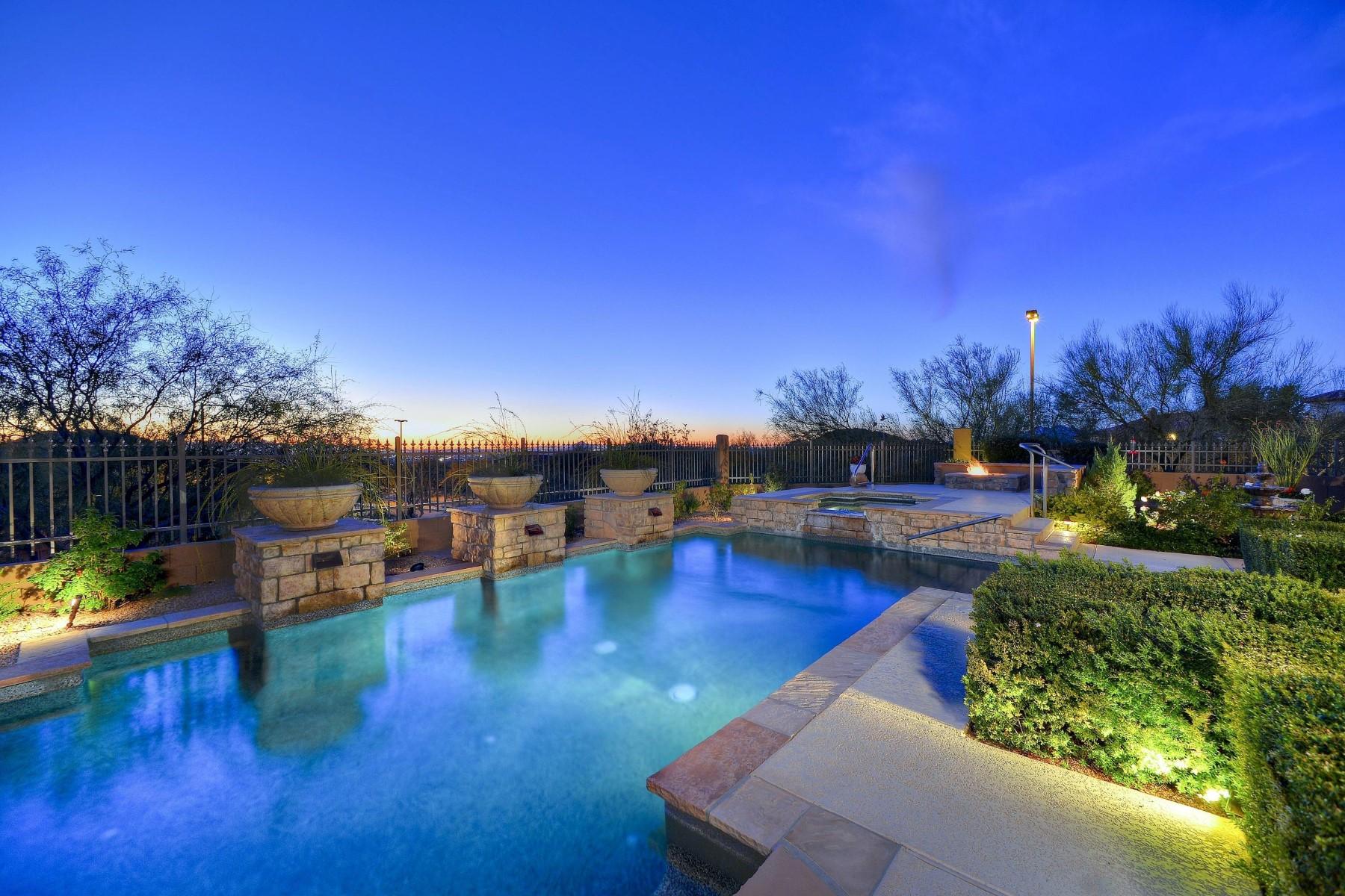 Частный односемейный дом для того Продажа на Stonecliff at Las Sendas Mountain 4062 N TERRA MESA CIR, Mesa, Аризона, 85207 Соединенные Штаты