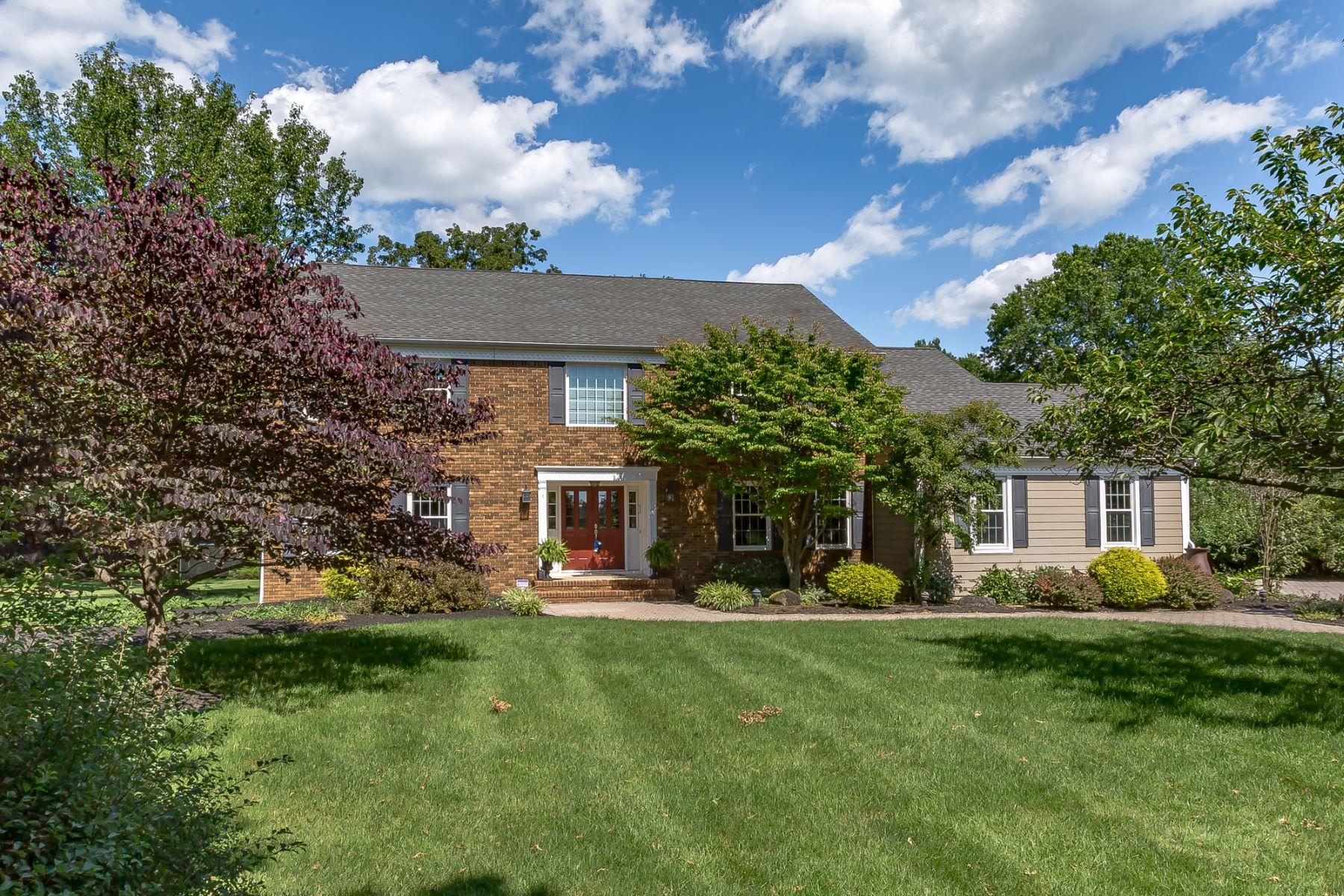 Single Family Homes para Venda às Distinguished Colonial 154 Woods End, Basking Ridge, Nova Jersey 07920 Estados Unidos