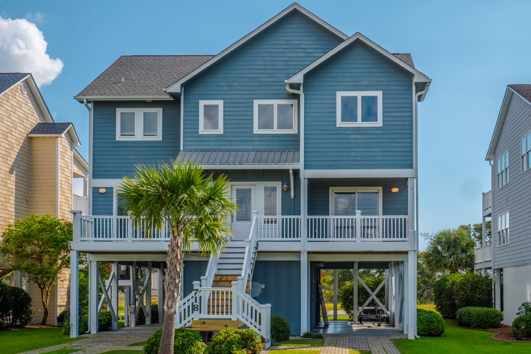 Single Family Homes for Active at Spectacular Water Views in Surf City 718 Roland Ave Surf City, North Carolina 28445 United States