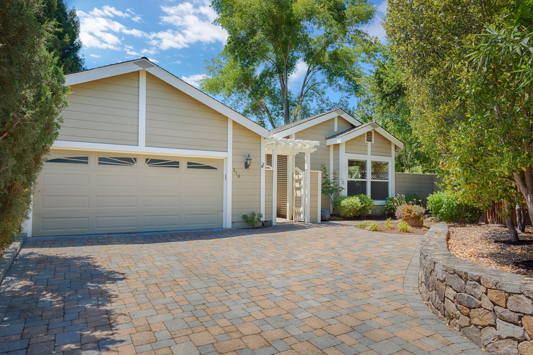 Single Family Homes for Sale at Beautifully Remodeled Single Story 319 Freitas Court Danville, California 94526 United States