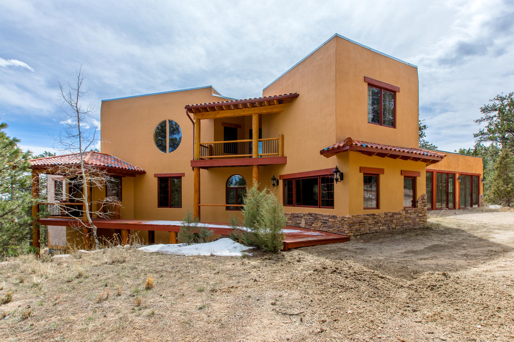 Single Family Homes for Active at Tranquil Location Boasts Inspiring Panoramic Mountain Views & Exquisite Details 4352 County Road 72 Bailey, Colorado 80421 United States