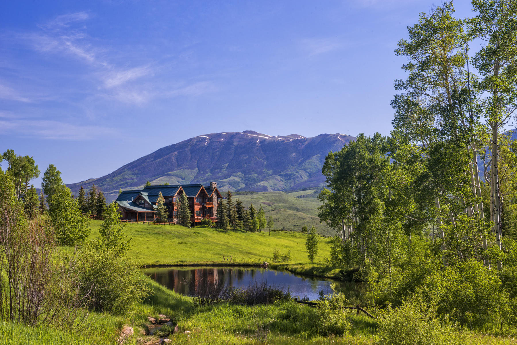 Farm / Ranch / Plantation for Active at Private Luxury Horse Ranch on 255 Acres 1800 Triple Creek Ranch Road Silverthorne, Colorado 80498 United States