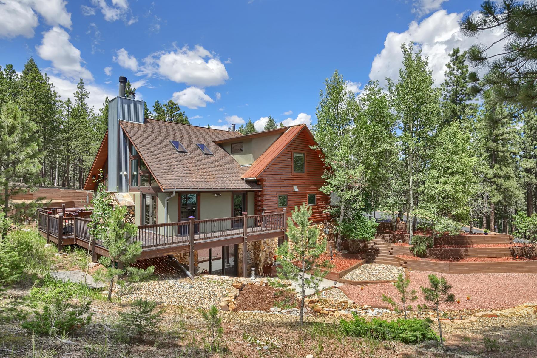 Single Family Homes por un Venta en True Rocky Mountain Retreat 1305 Windflower Ln, Woodland Park, Colorado 80863 Estados Unidos