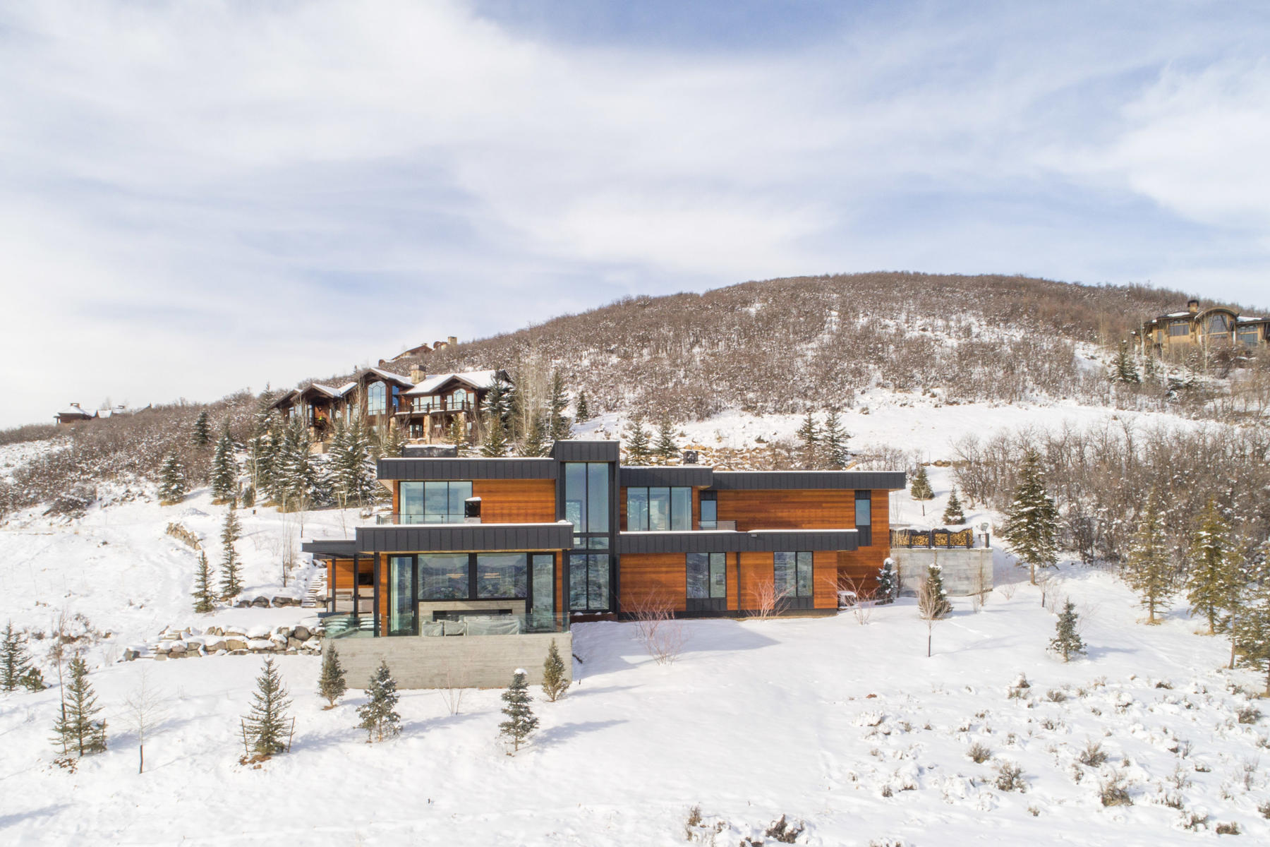 Single Family Home for Sale at Stunning Modern Glenwild Home 7442 Purple Sage Dr, Park City, Utah, 84098 United States