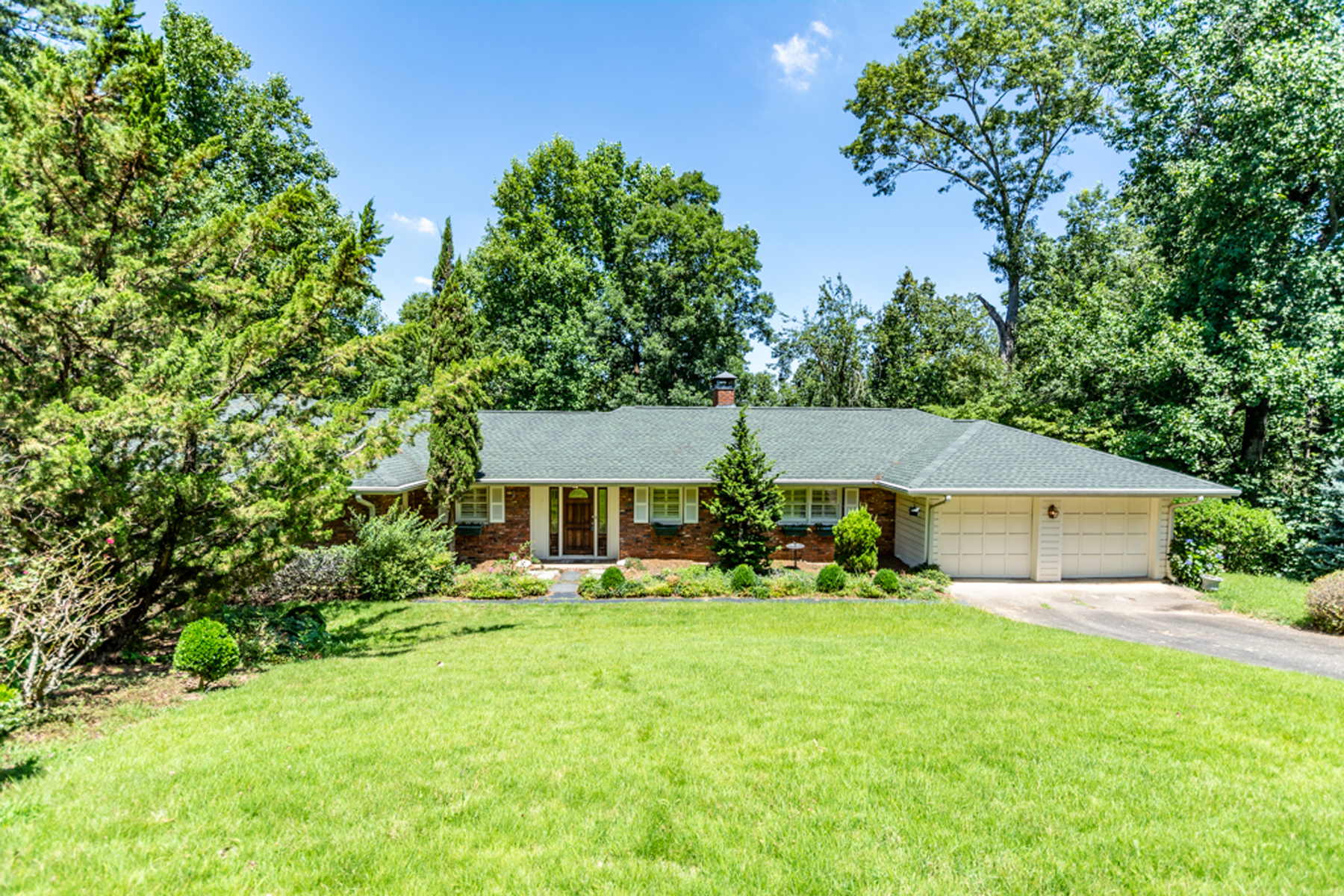 Single Family Home for Sale at Ready For Renovation Or Tear Down Nestled Among Multi-Million Dollar Estates 5080 Riverview Road Sandy Springs, Georgia 30327 United States