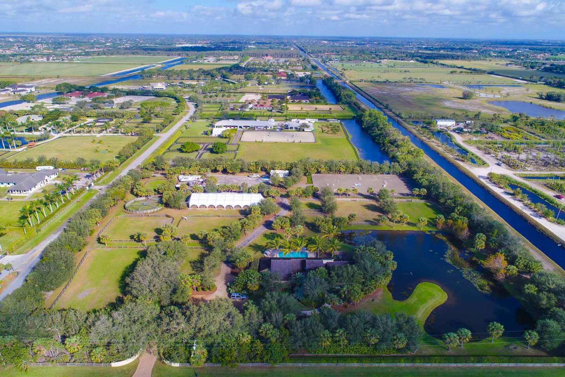 단독 가정 주택 용 매매 에 4980 Stables Way Wellington, 플로리다, 33414 미국
