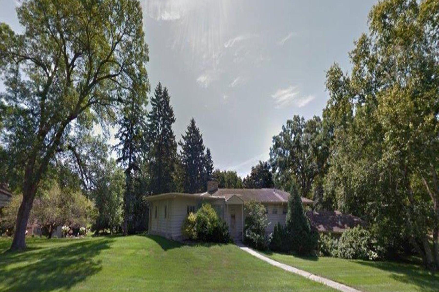 Частный односемейный дом для того Продажа на 4805 Woodhill Way Edina, Миннесота, 55424 Соединенные Штаты