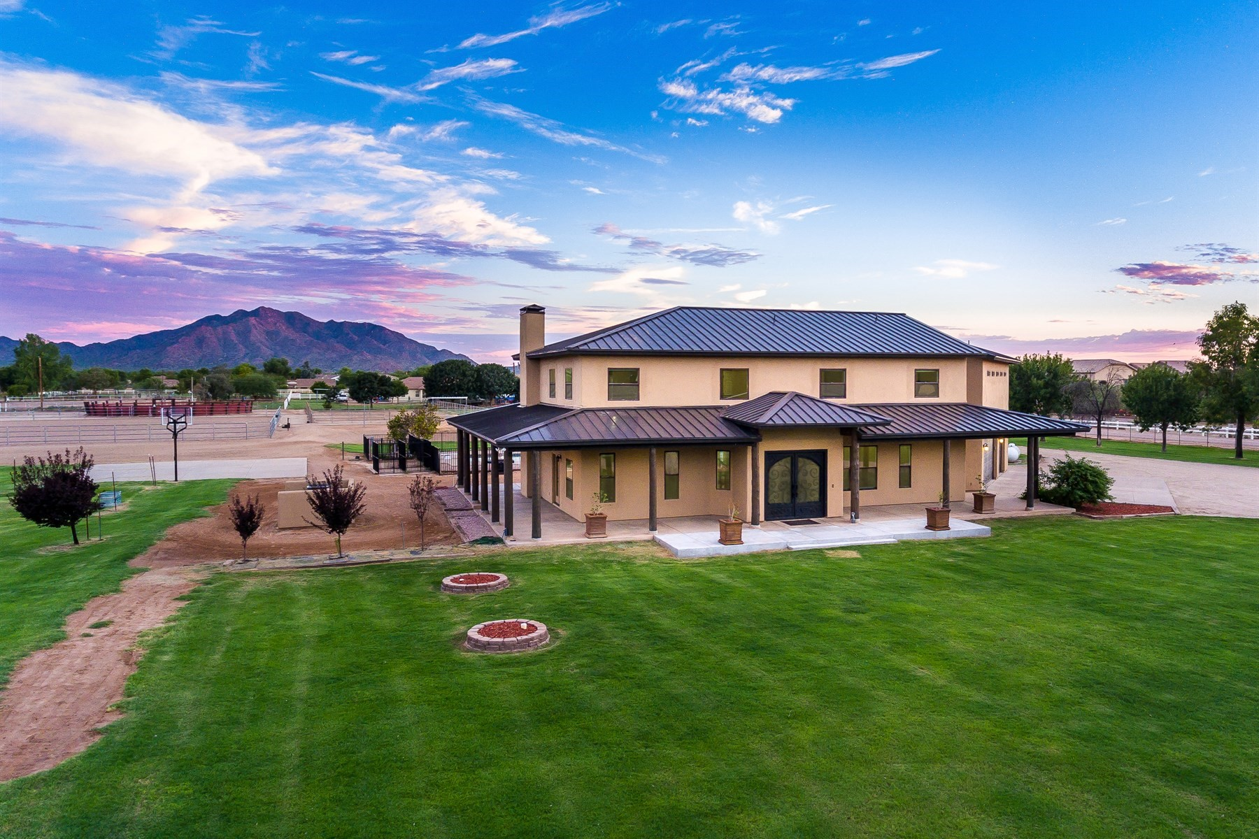 Single Family Home for Sale at Gorgeous Equestrian Estate horse property 3637 E Brooks Farm Rd, Gilbert, Arizona, 85298 United States