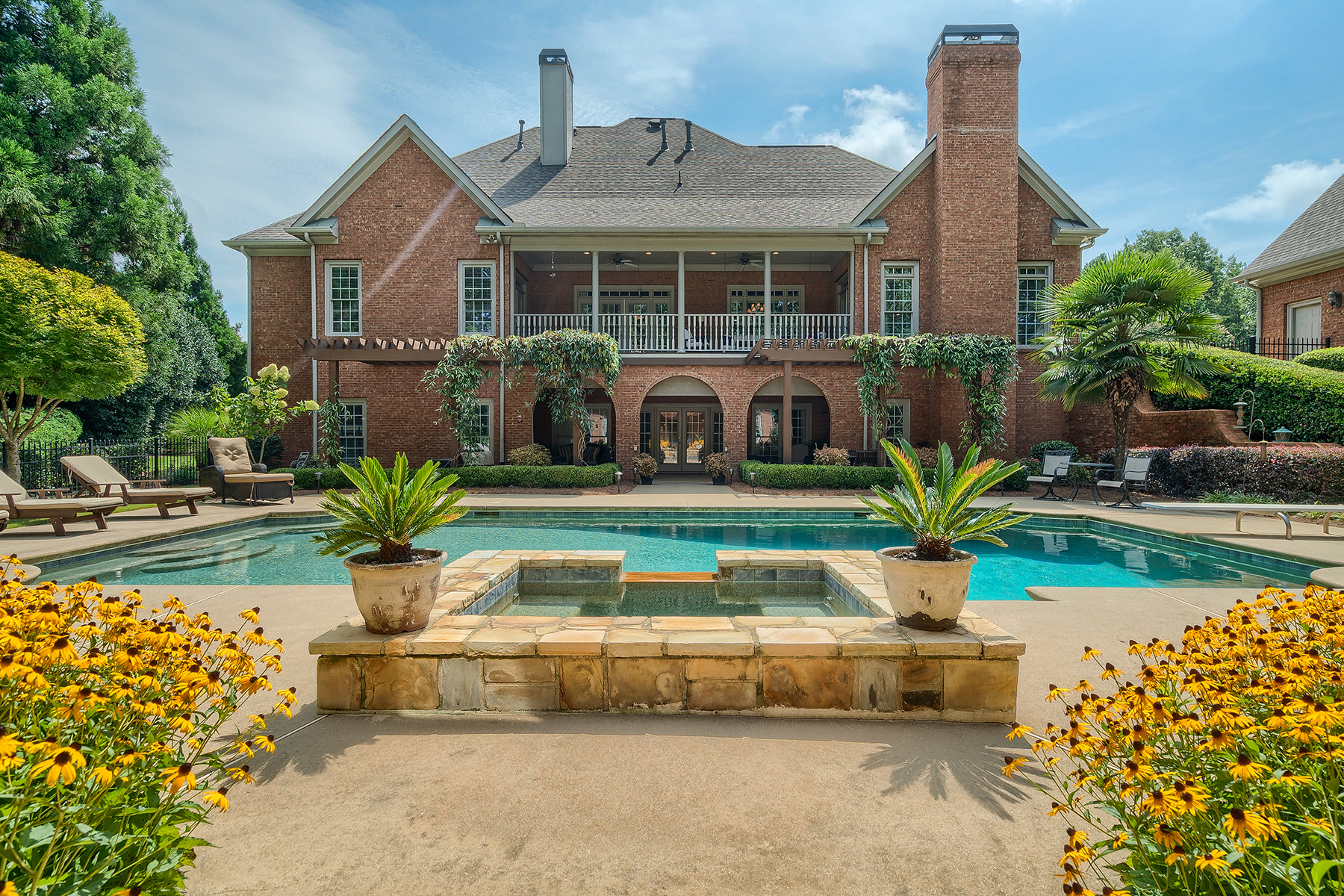 Single Family Home for Sale at Sprawling European Ranch 4760 Highland Point Drive Auburn, Georgia 30011 United States