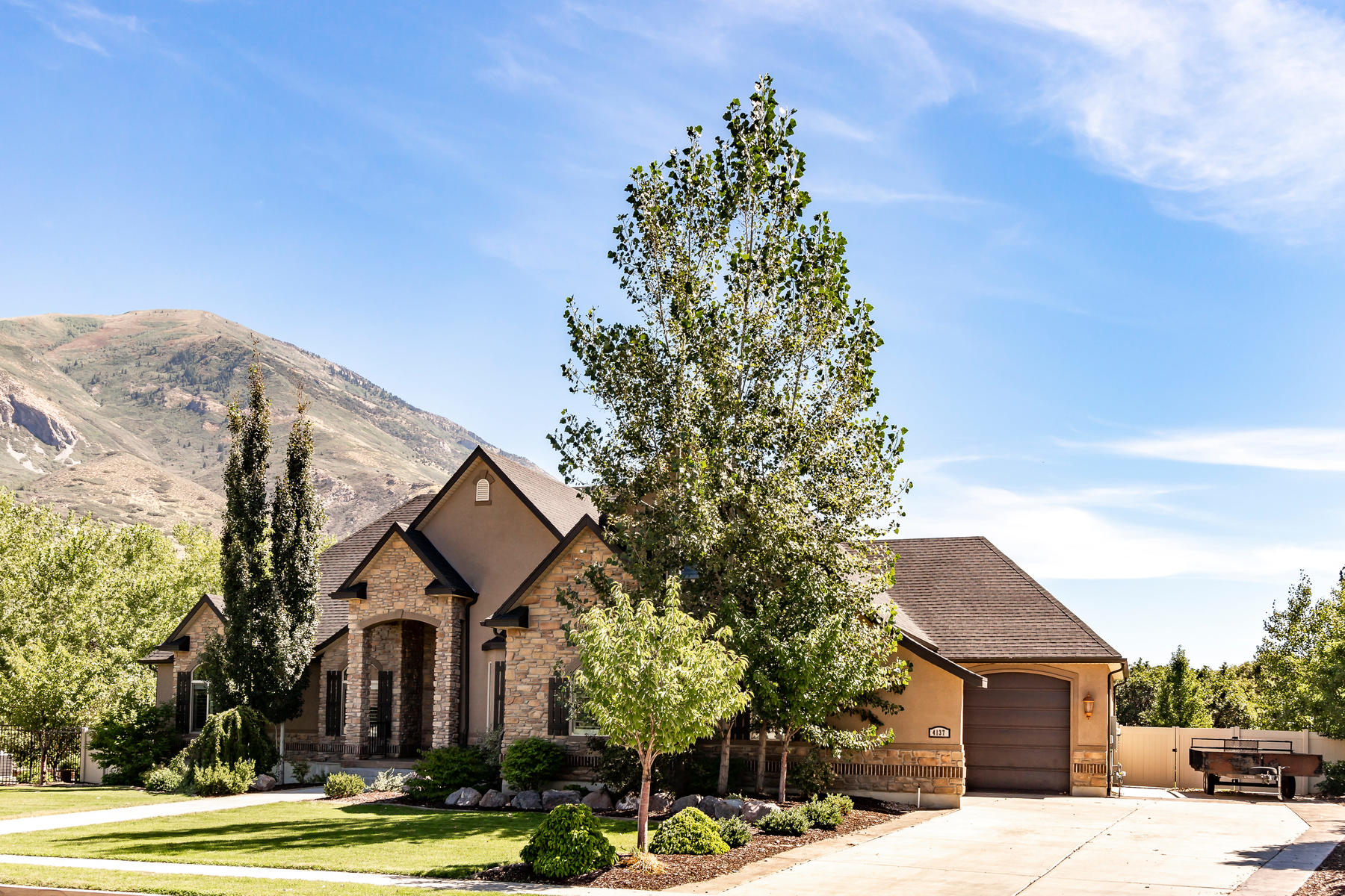 Single Family Homes for Sale at Stunning Mountain Views with High End Upgrades Throughout 4137 W Mesquite Way, Cedar Hills, Utah 84062 United States