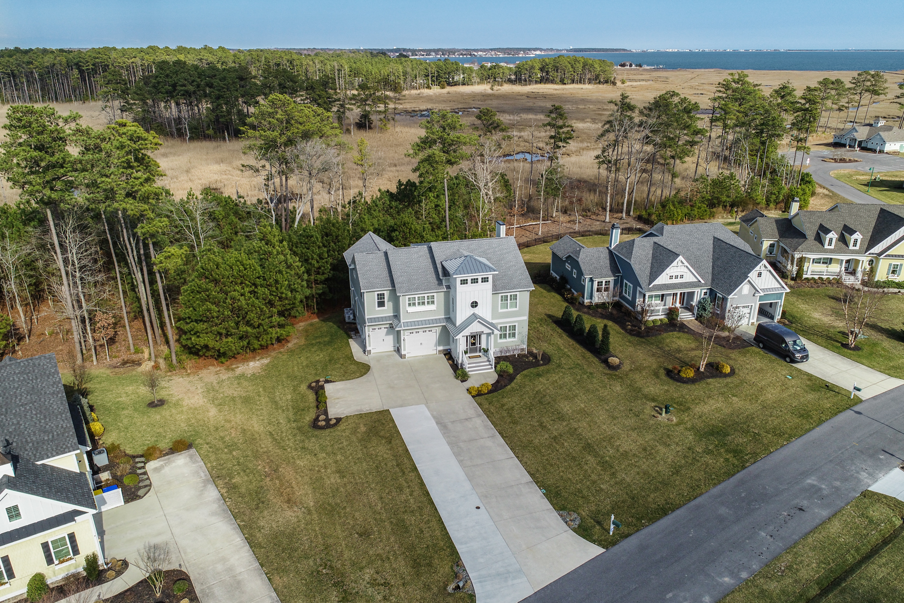 Single Family Homes for Sale at 23350 Horse Island Road Lewes, Delaware 19958 United States