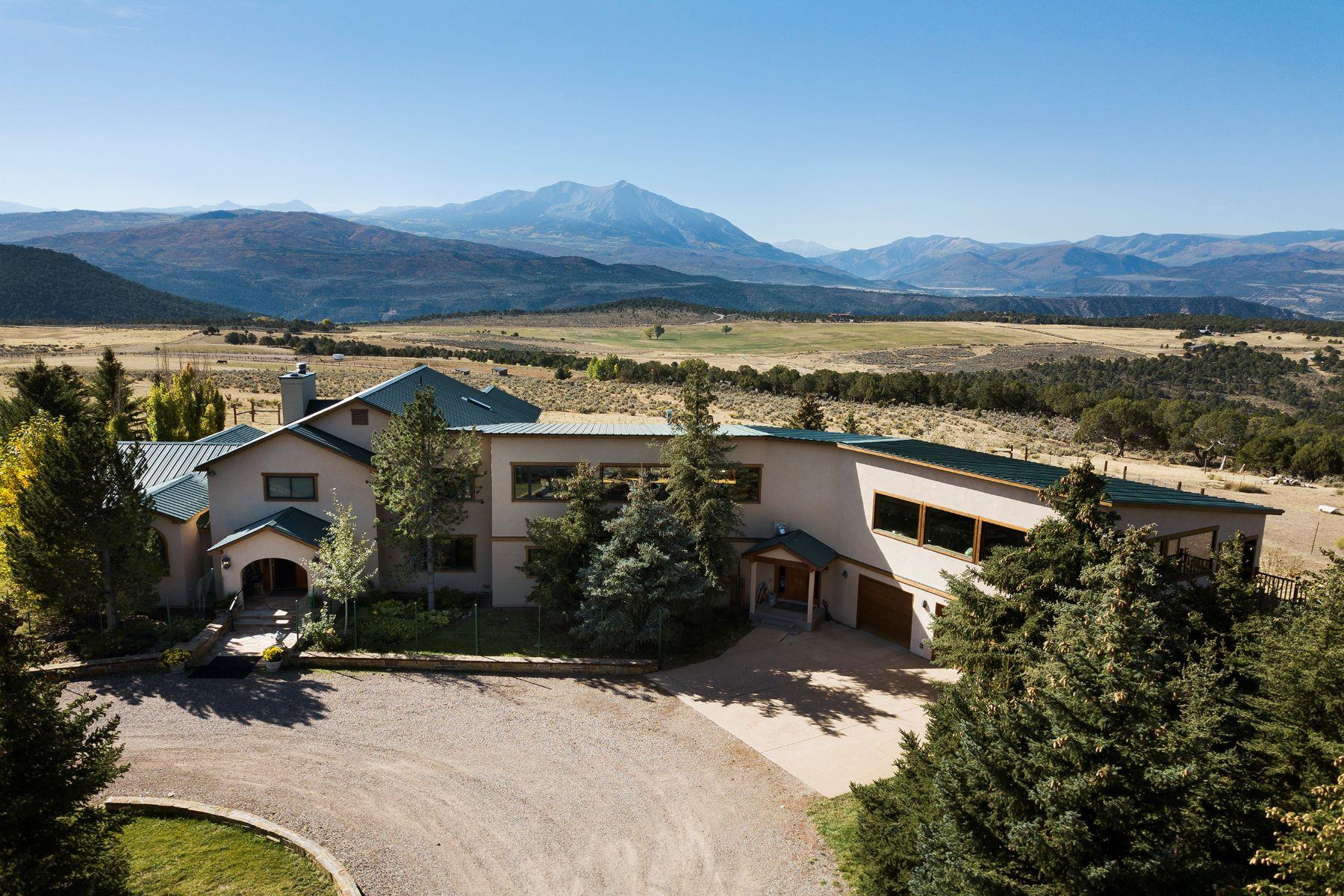 Fazenda / Rancho / Plantação para Venda às Carbondale, Colorado 81623 Estados Unidos