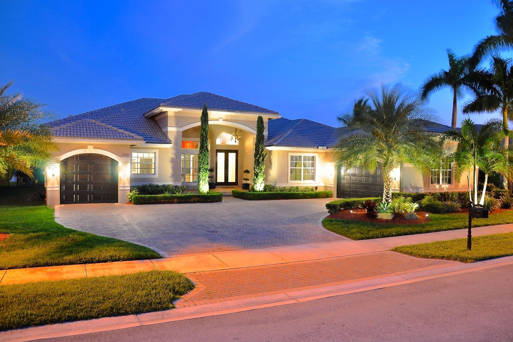 Einfamilienhaus für Verkauf beim 15256 SW 37 ST 15256 Sw 37 Street Davie, Florida, 33331 Vereinigte Staaten