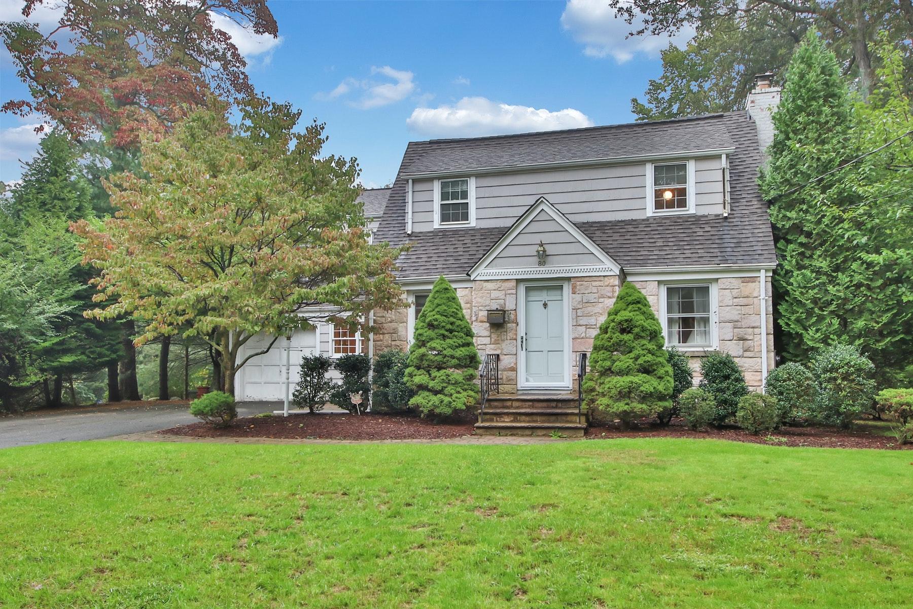 Maison unifamiliale pour l Vente à Premier Cul-de-Sac Location in Ramsey 80 Elm Avenue Ramsey, New Jersey 07446 États-Unis