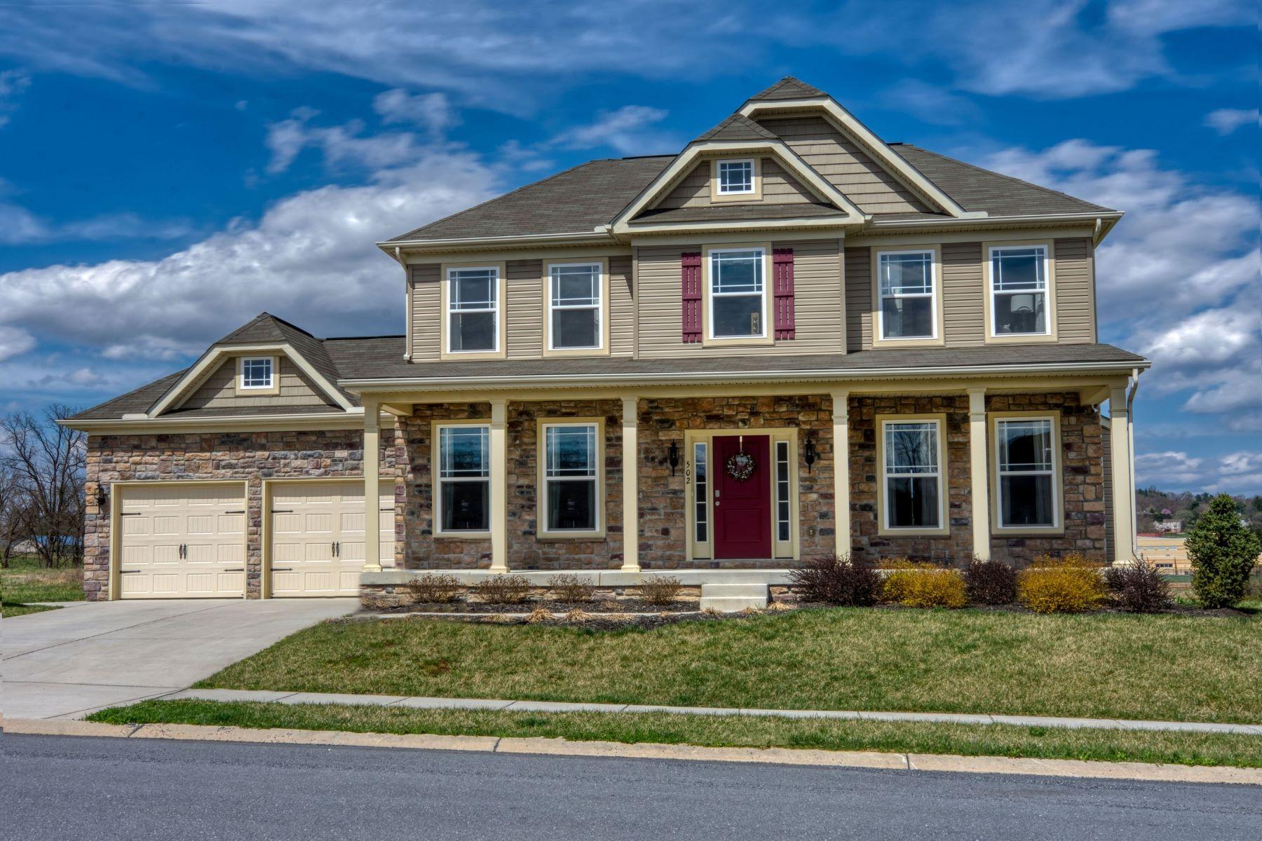 Single Family Homes por un Venta en Custom Colonial in Applewood Estates 6-A Waycross Lane Stewartstown, Pennsylvania 17363 Estados Unidos