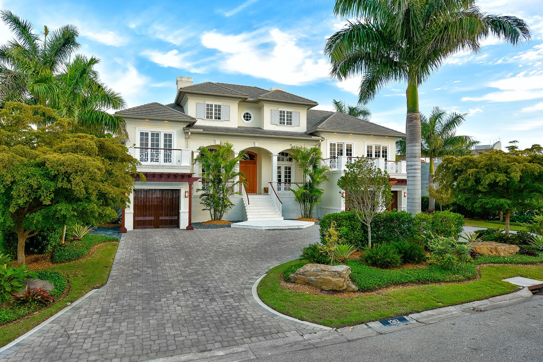 Single Family Homes for Sale at 513 Casey Key Rd, Nokomis, Florida 34275 United States