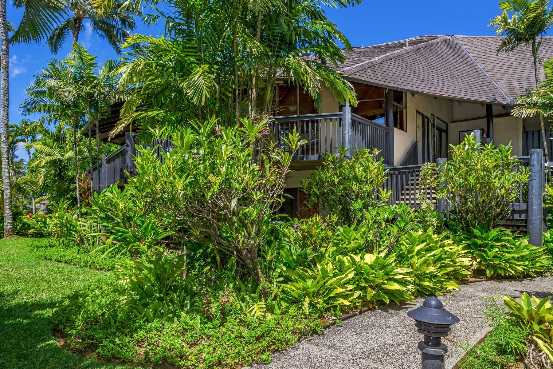 Appartement en copropriété pour l Vente à Princeville Mauna Kai 3920 Wyllie Road #10B Princeville, Hawaii, 96722 États-Unis