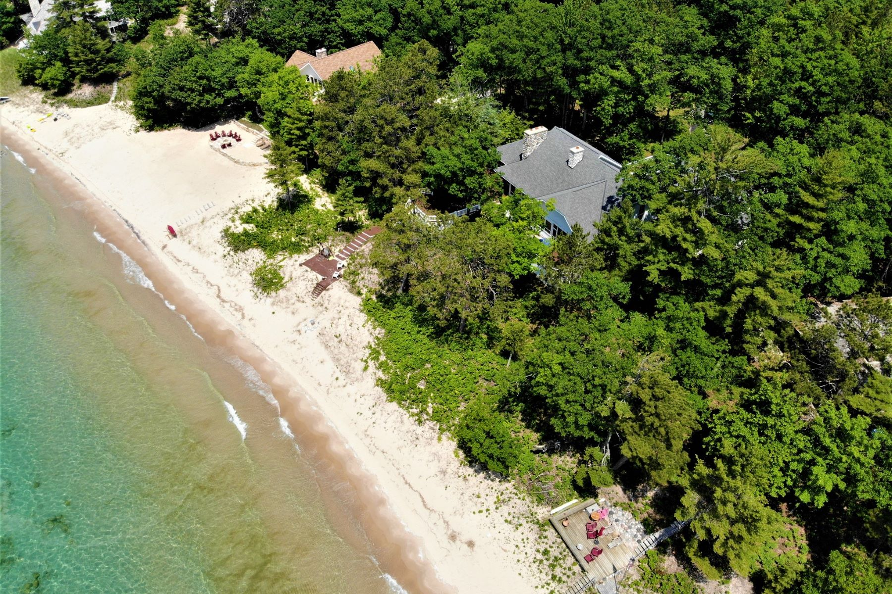 Other Residential Homes for Sale at Lower Shore Drive Beach Home 5414 Lower Shore Drive Harbor Springs, Michigan 49740 United States