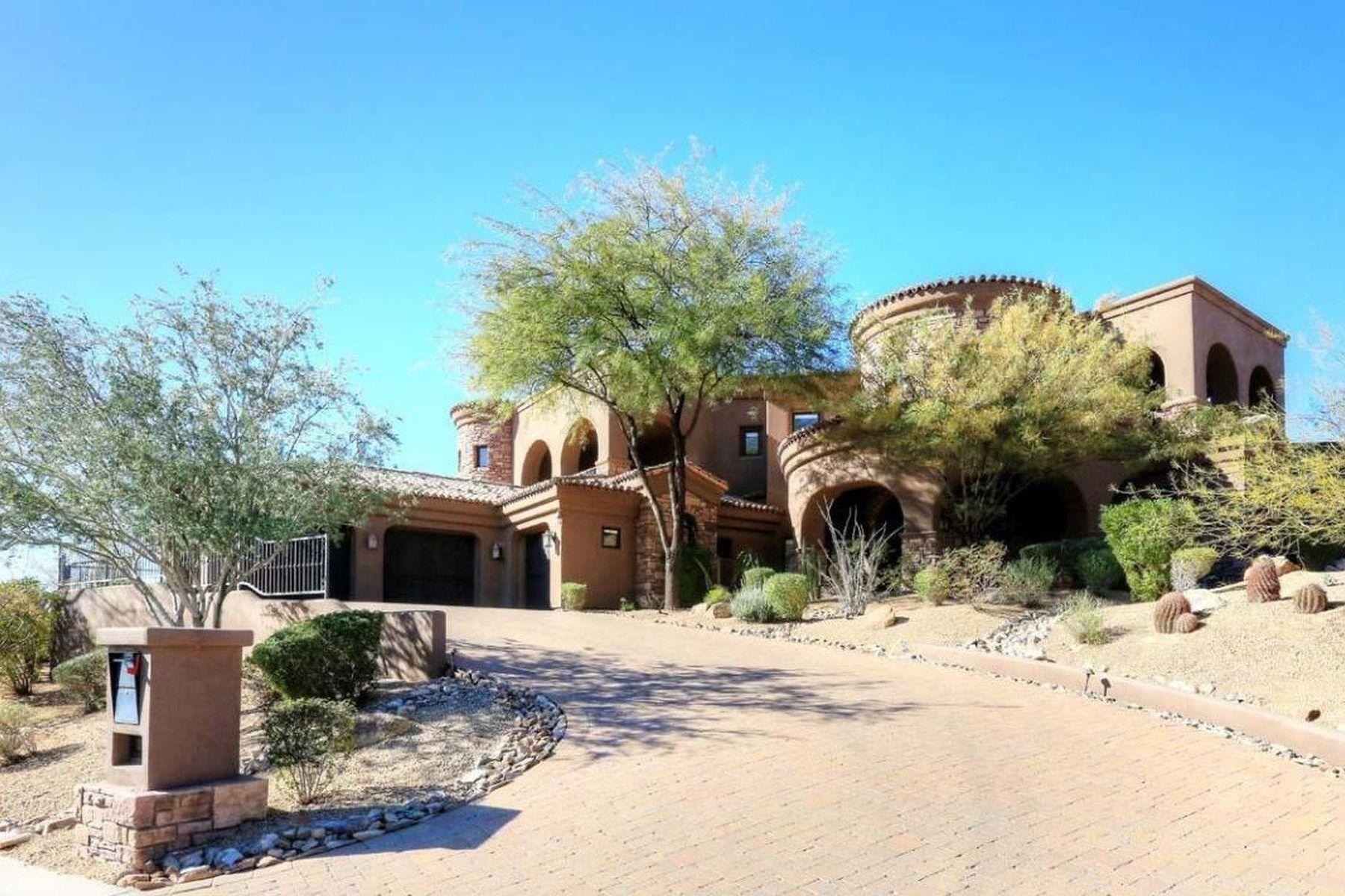 Villa per Vendita alle ore Incredible Scottsdale Mountain Home 12670 N 128TH PL, Scottsdale, Arizona, 85259 Stati Uniti
