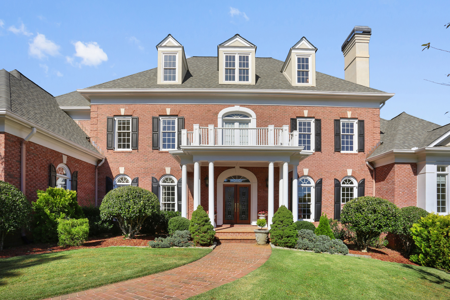 Single Family Homes for Active at Exceptional Country Club Of The South Estate Home 1021 Cherbury Lane Johns Creek, Georgia 30022 United States