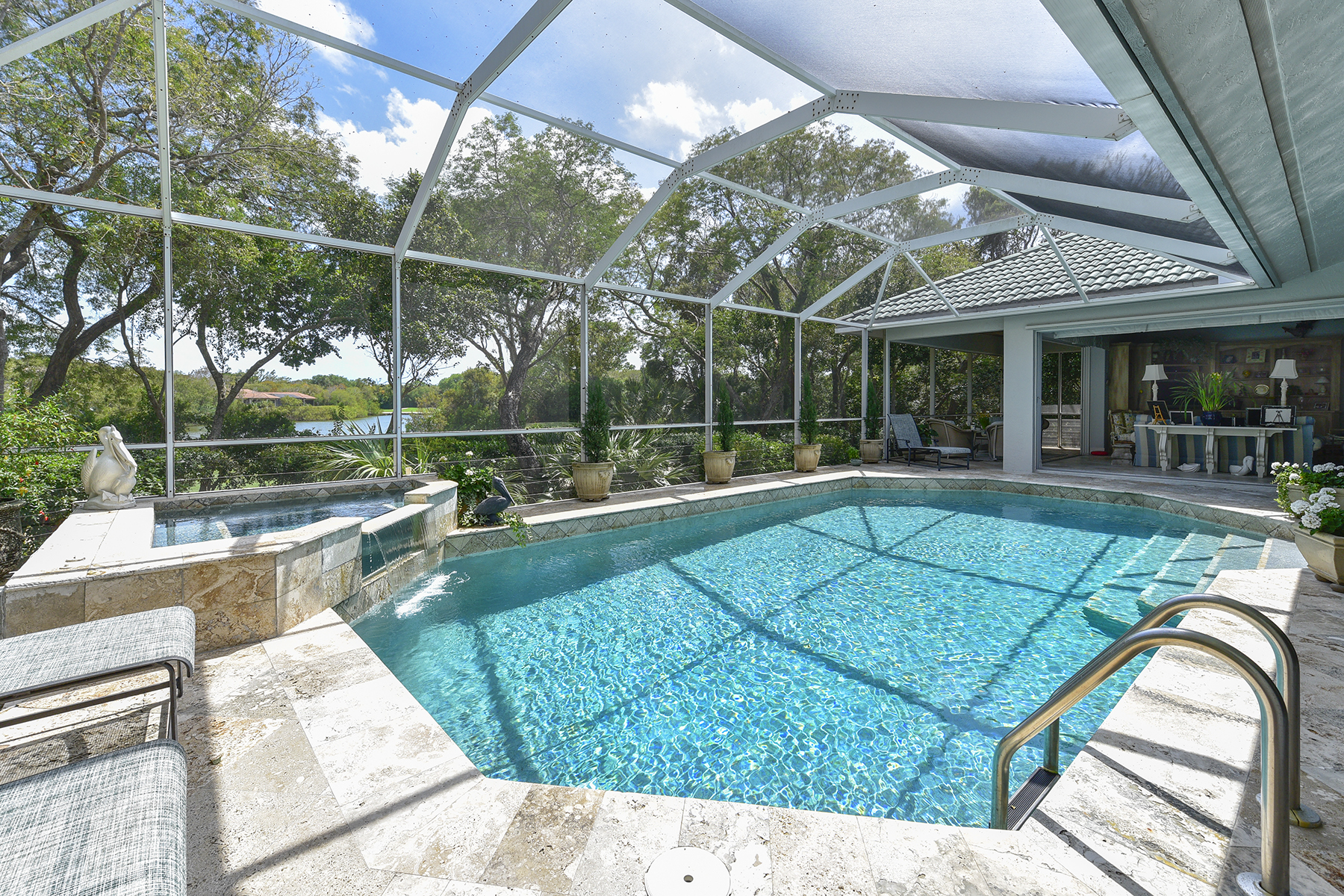 Single Family Home for Sale at Golf and Lakefront View Home at Ocean Reef 18 Cinnamon Bark Lane Ocean Reef Community, Key Largo, Florida, 33037 United States