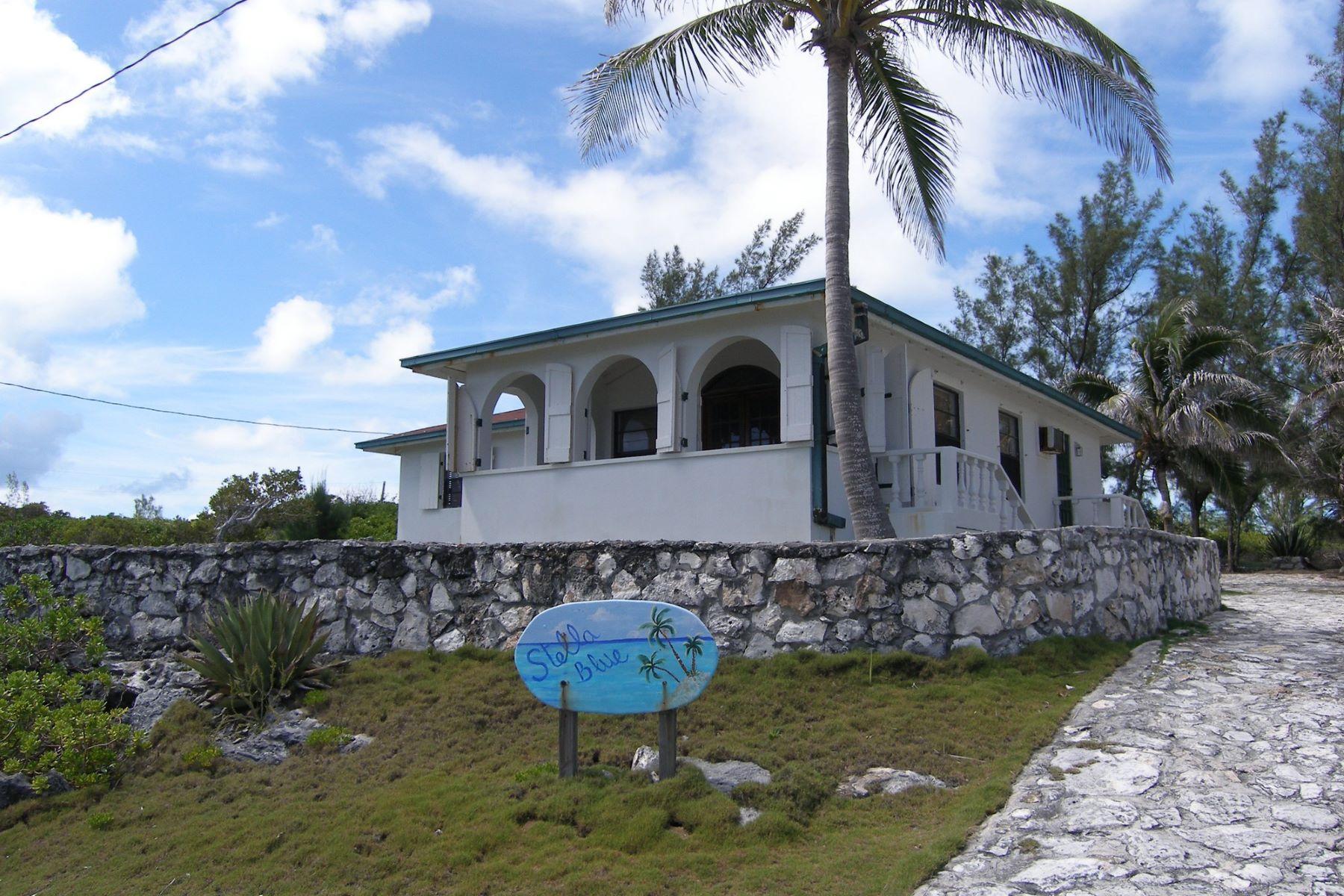 Частный односемейный дом для того Продажа на Stella Blue Rainbow Bay, Эльютера, Багамские Острова